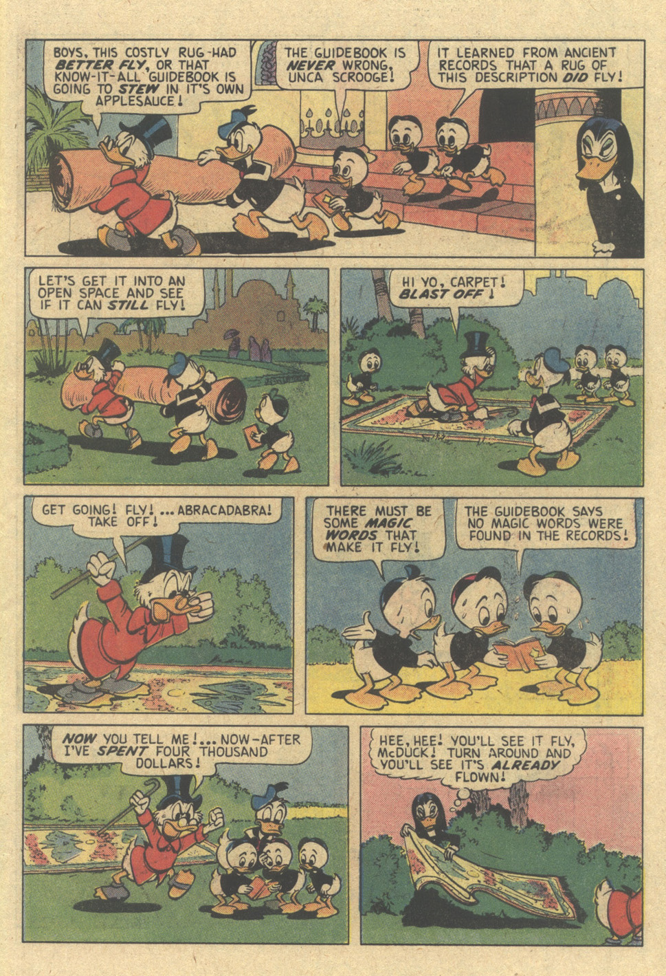 Read online Uncle Scrooge (1953) comic -  Issue #187 - 7