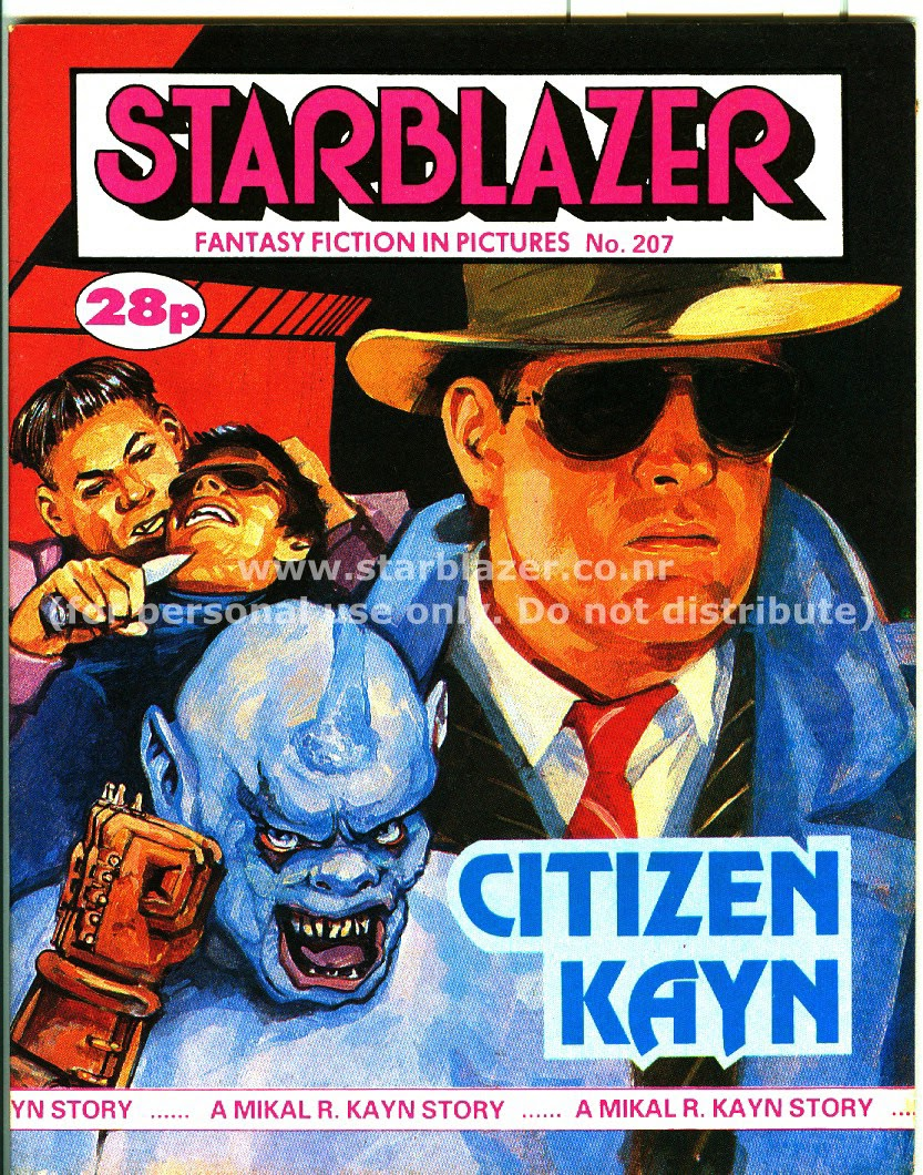 Starblazer issue 207 - Page 1