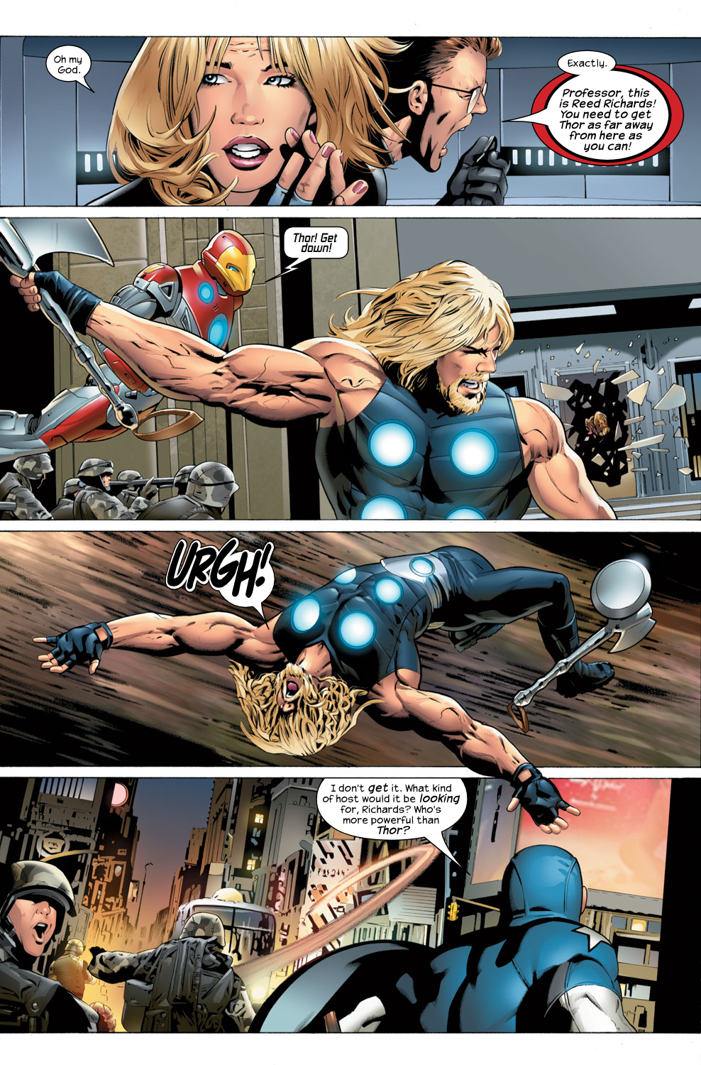 Read online Ultimate Fantastic Four (2004) comic -  Issue #32 - 12