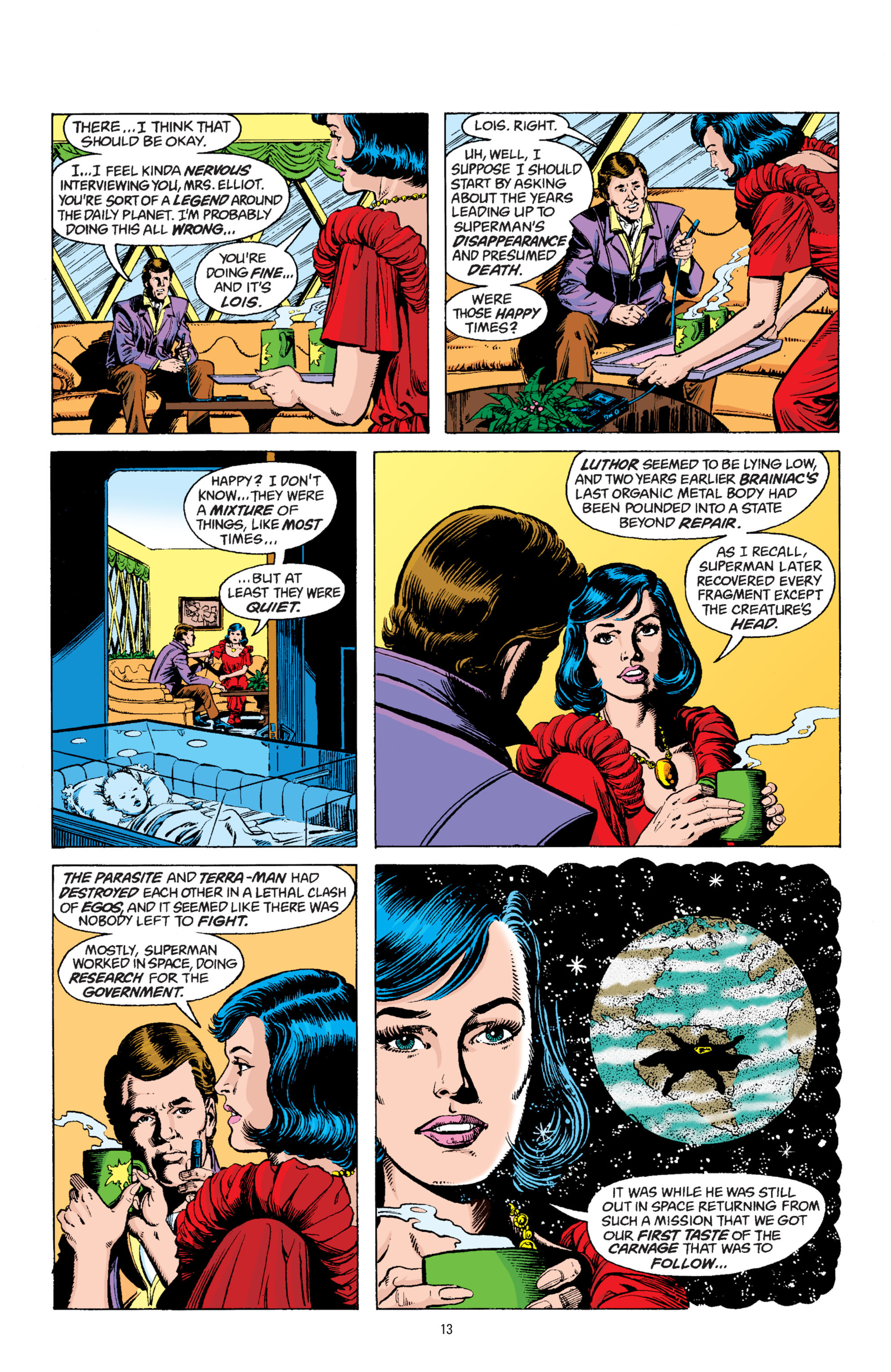 Read online Superman: Whatever Happened to the Man of Tomorrow? comic -  Issue # TPB - 12