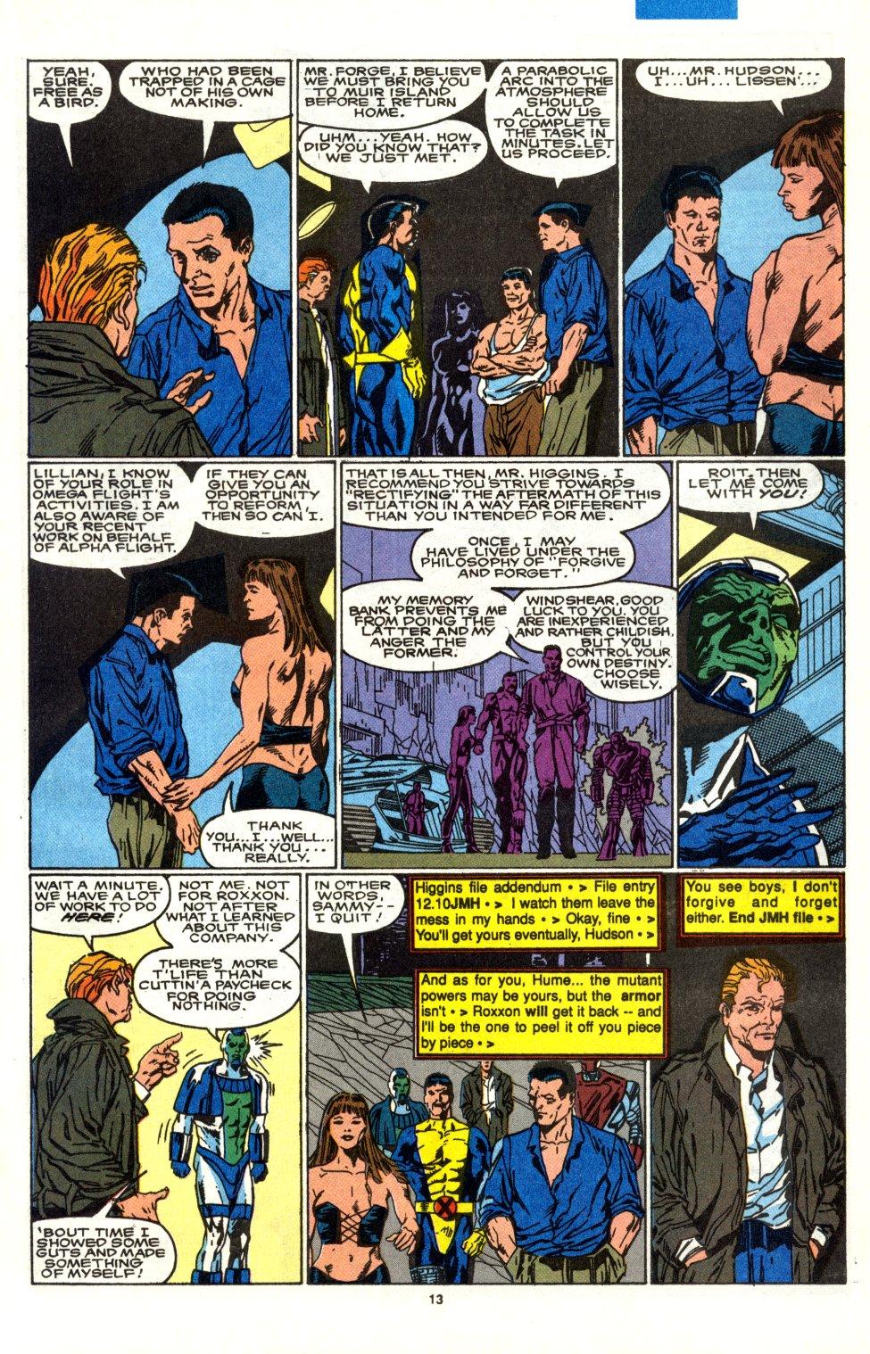 Read online Alpha Flight (1983) comic -  Issue #90 - 11