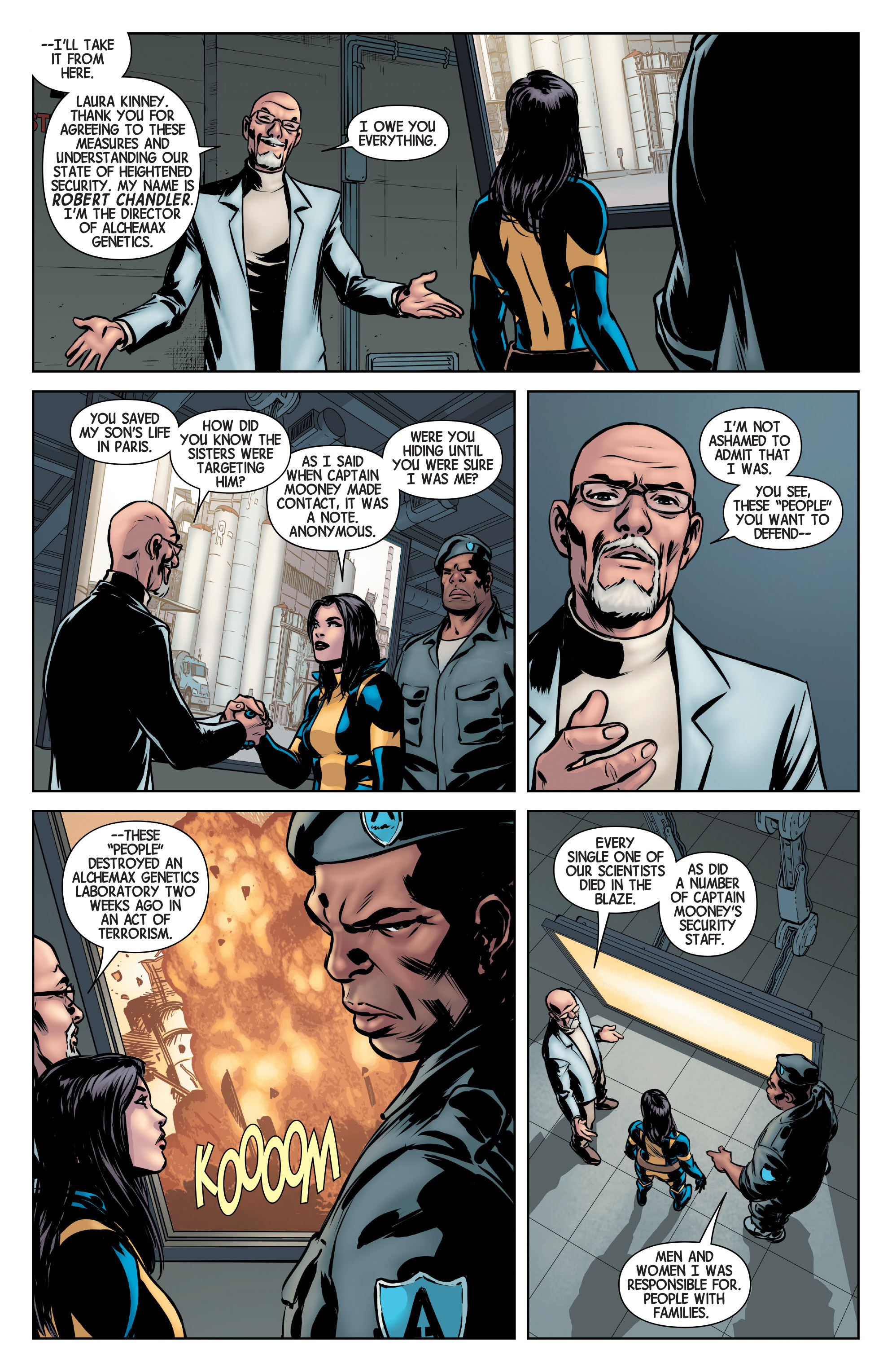 Read online All-New Wolverine (2016) comic -  Issue #2 - 5