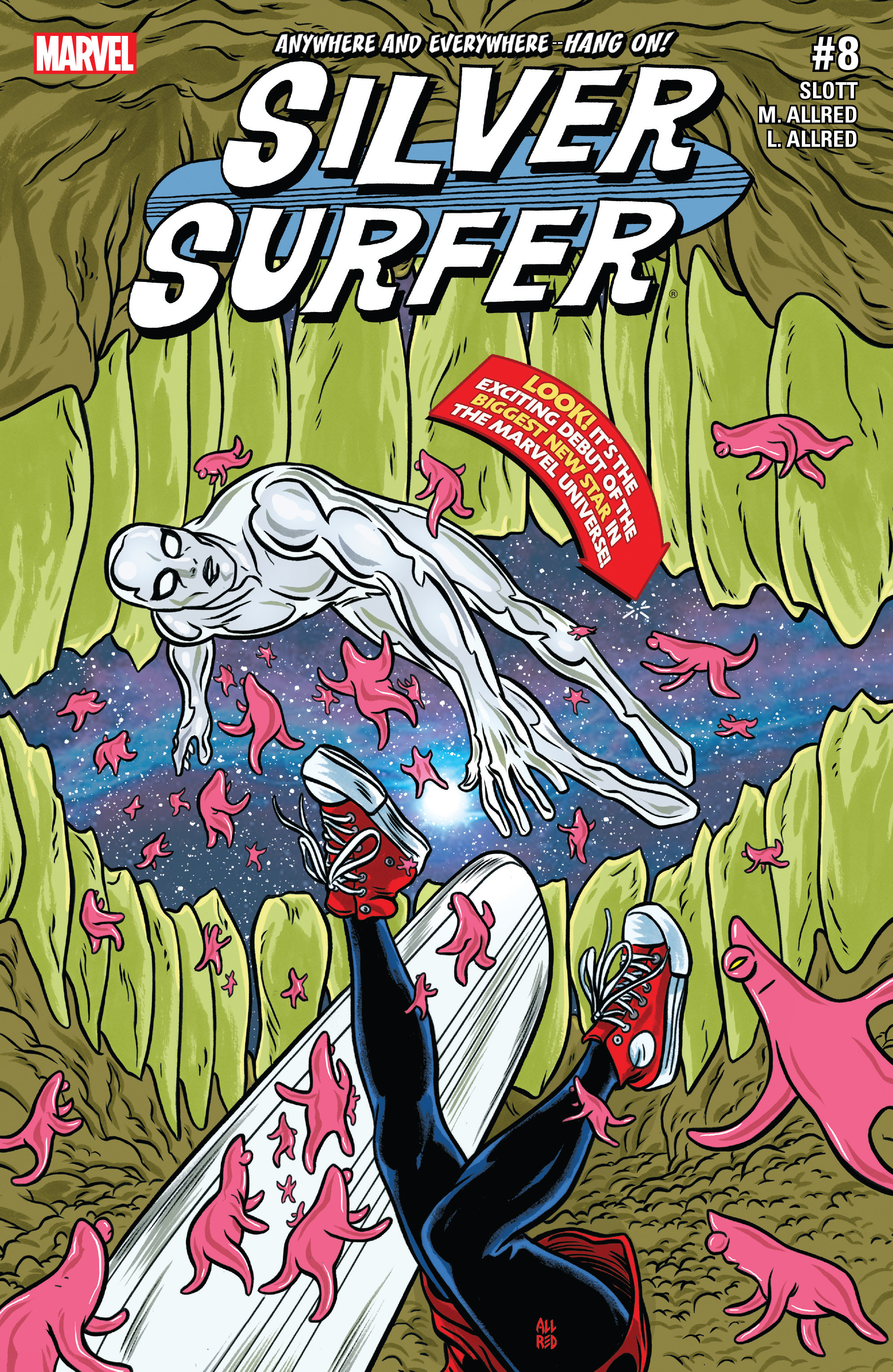 Read online Silver Surfer (2016) comic -  Issue #8 - 1