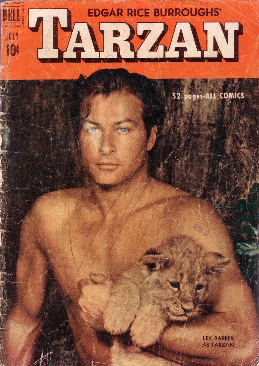Tarzan (1948) issue 22 - Page 1
