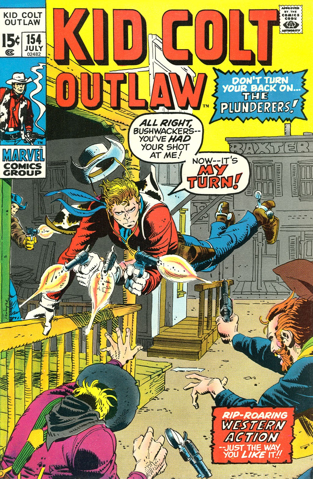 Kid Colt Outlaw issue 154 - Page 1