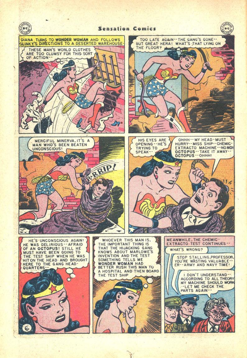 Read online Sensation (Mystery) Comics comic -  Issue #68 - 8