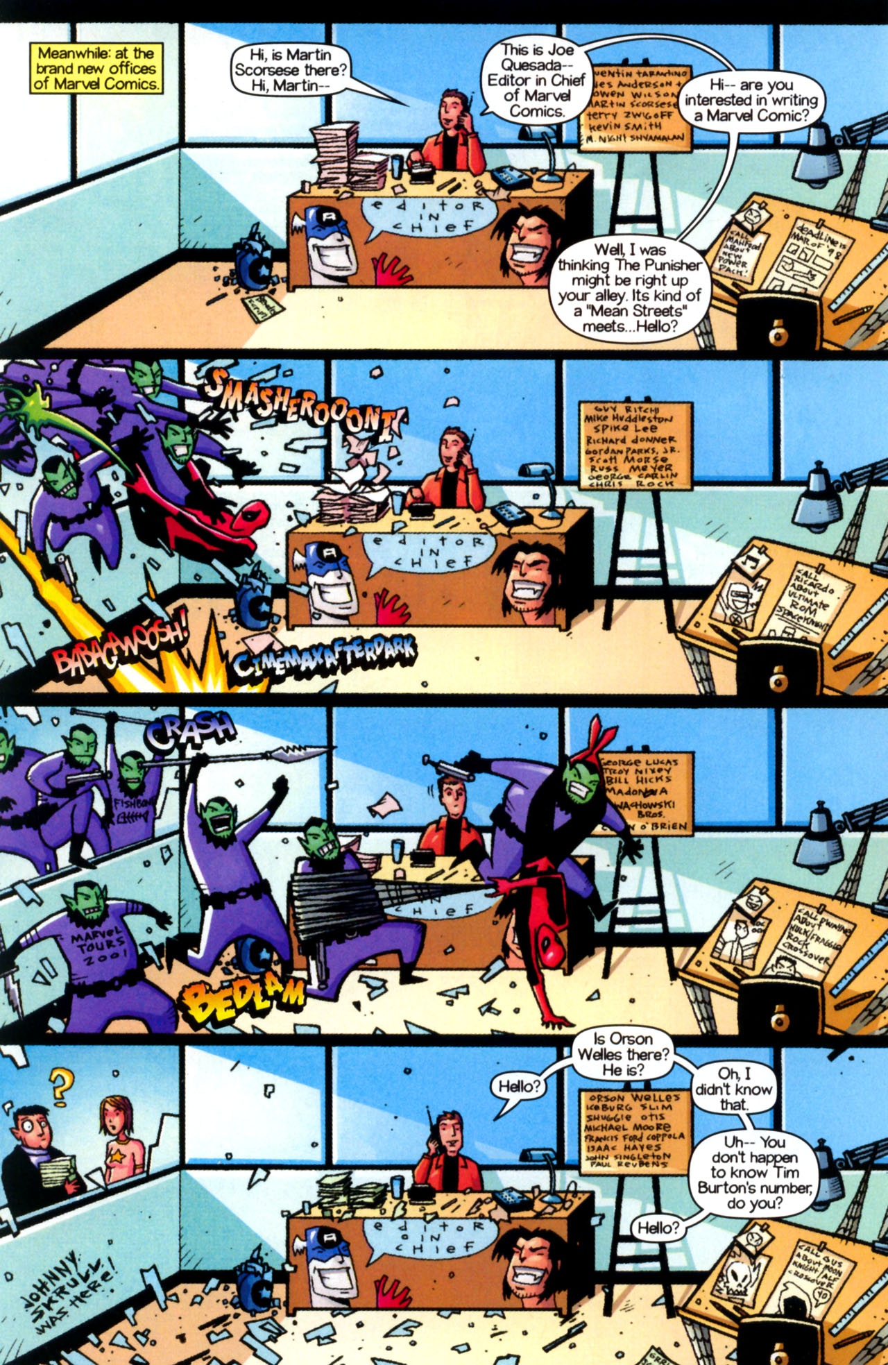 Read online Ultimate Marvel Team-Up comic -  Issue #9 - 24