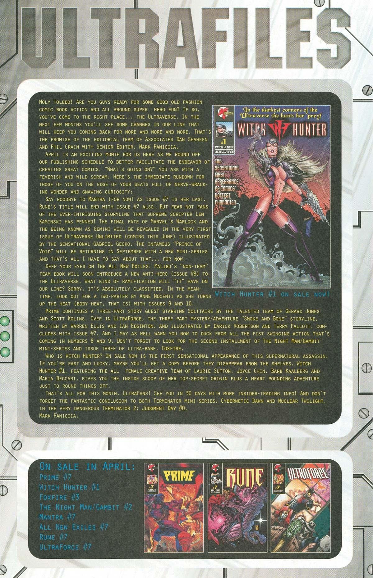 Read online UltraForce (1995) comic -  Issue #7 - 24