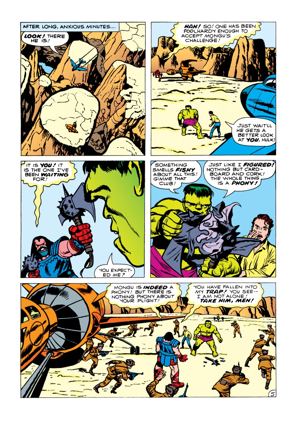 Read online Marvel Masterworks: The Incredible Hulk comic -  Issue # TPB 1 (Part 1) - 97