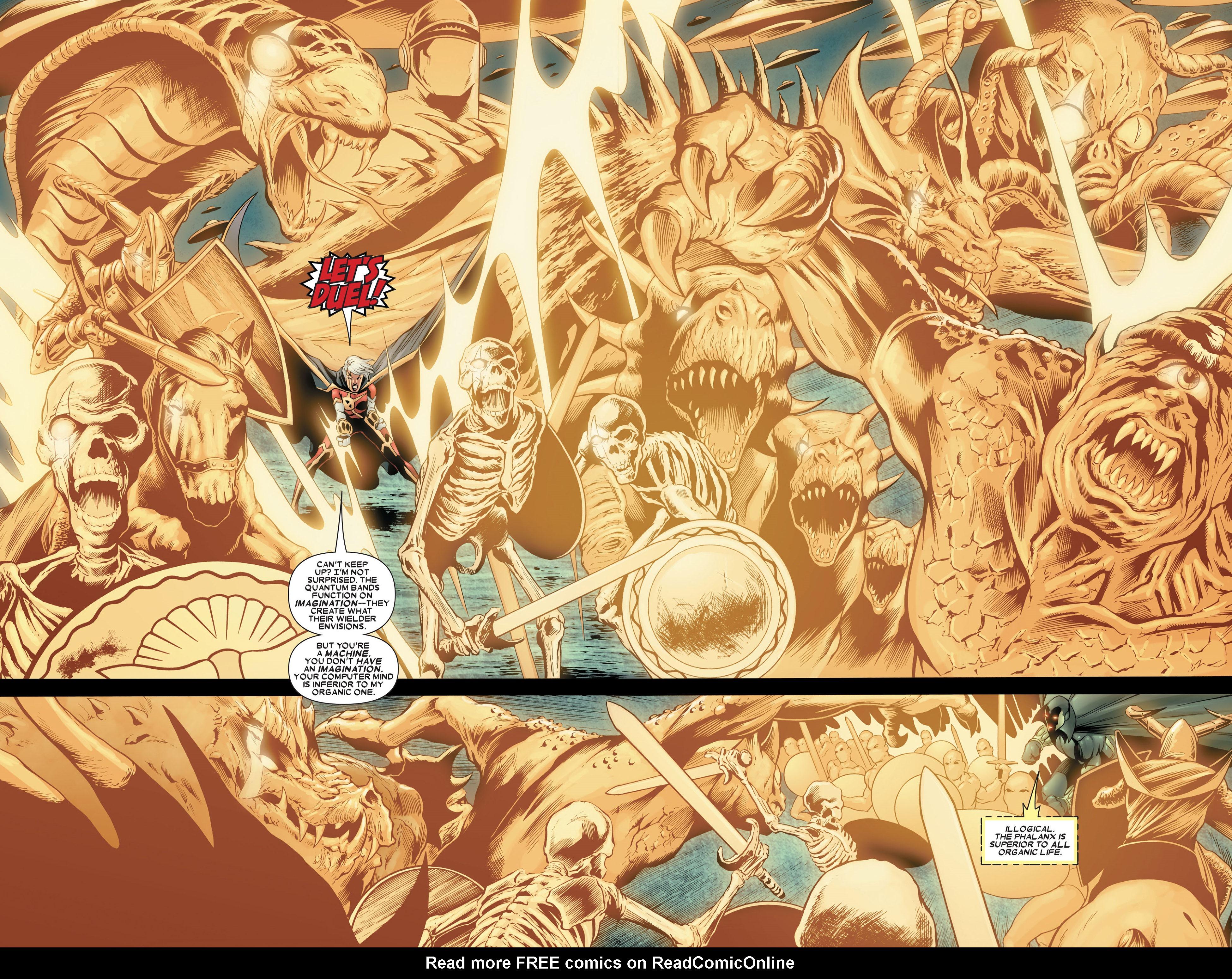 Read online Annihilation: Conquest - Quasar comic -  Issue #4 - 11