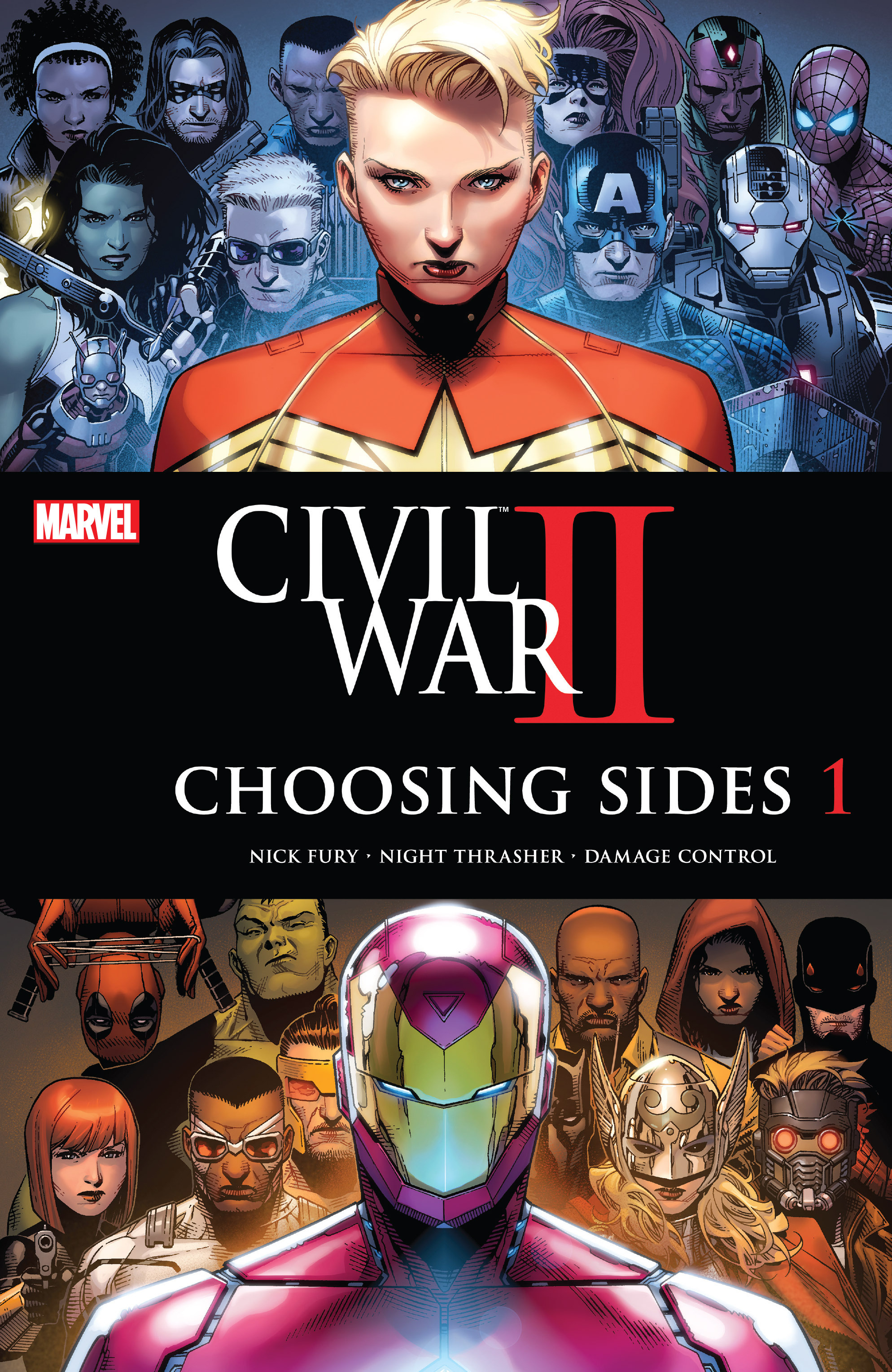 Read online Civil War II: Choosing Sides comic -  Issue #1 - 1