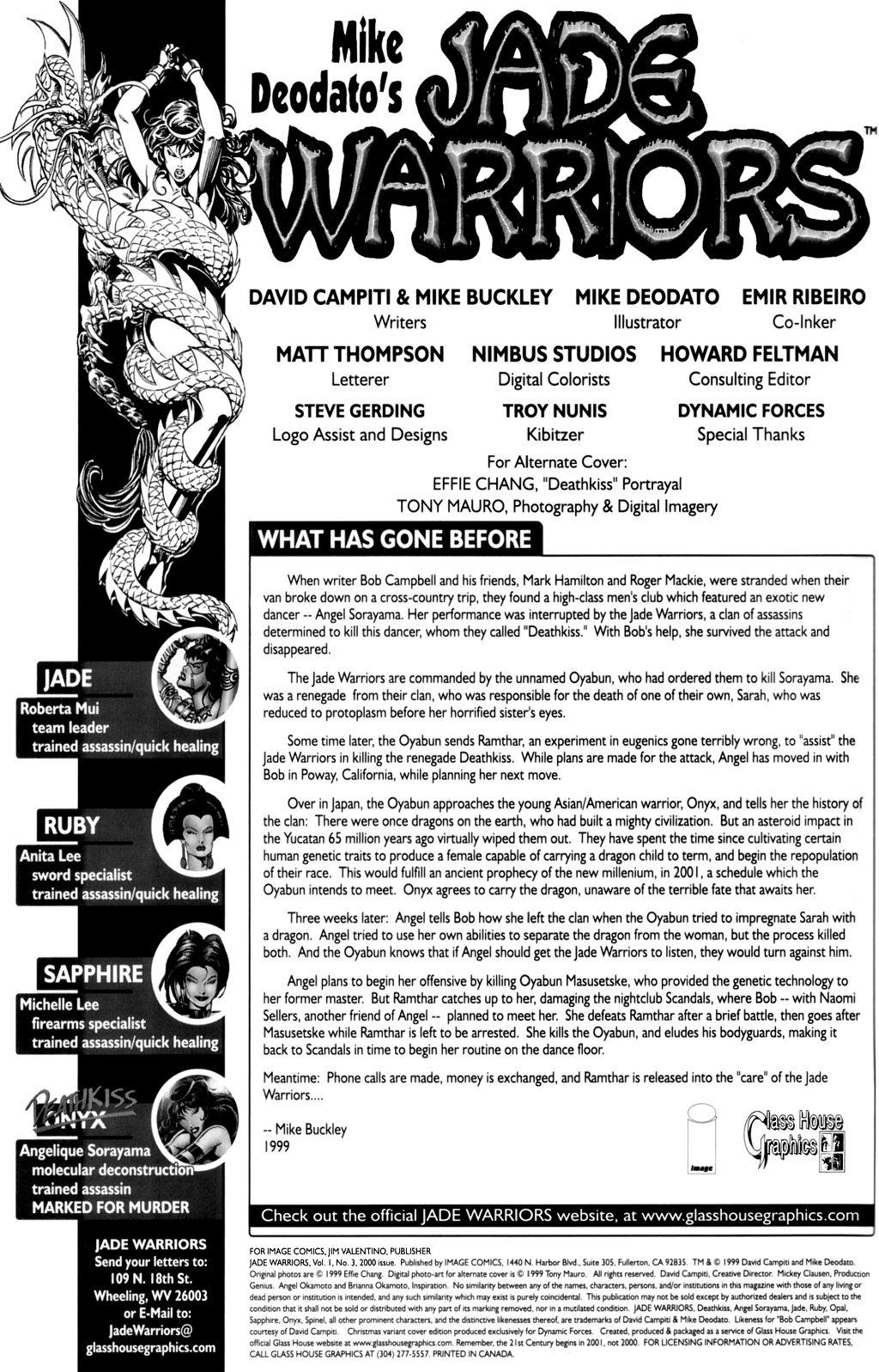 Read online Jade Warriors comic -  Issue #3 - 2