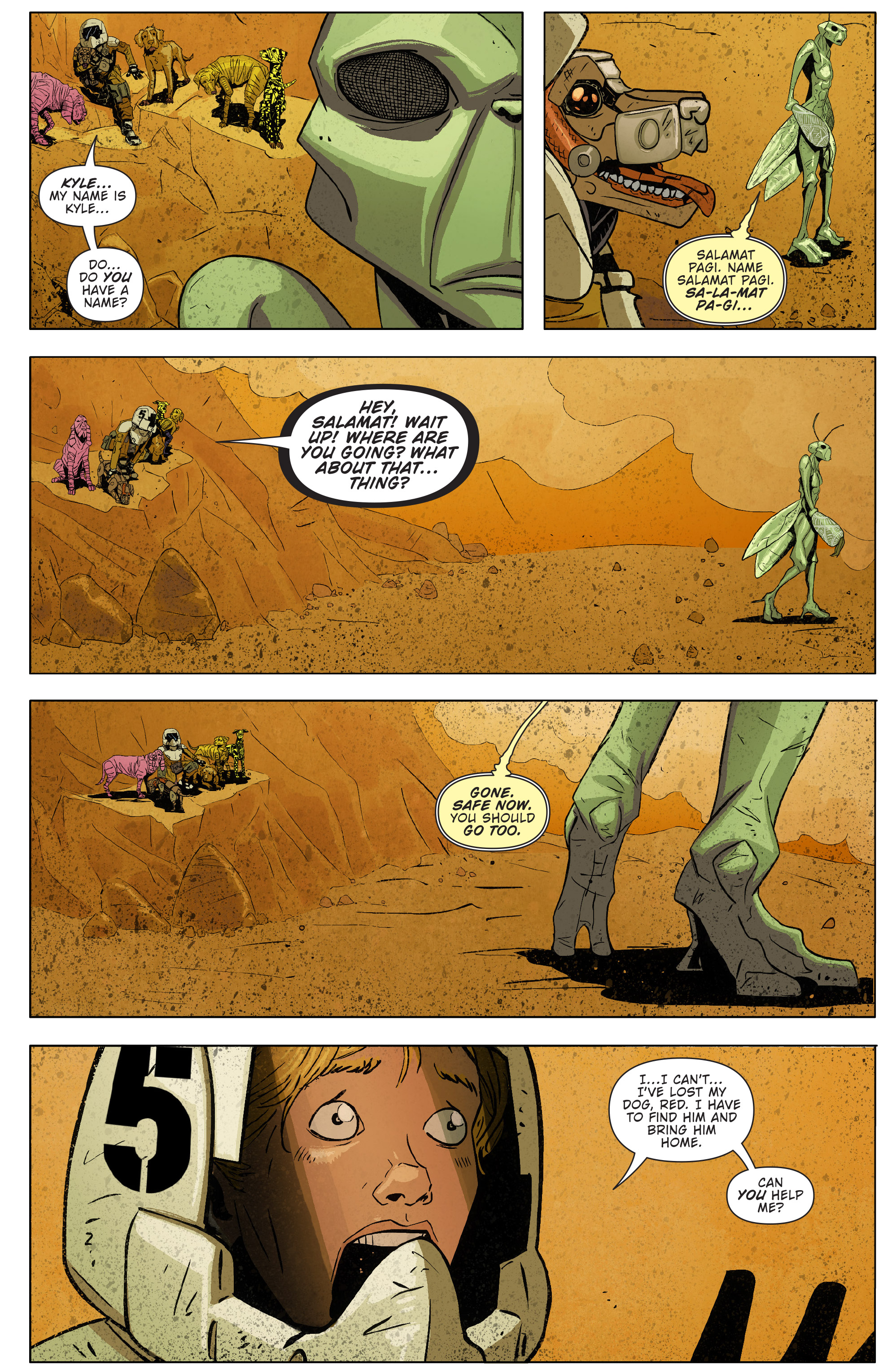 Read online Red Dog comic -  Issue #4 - 6