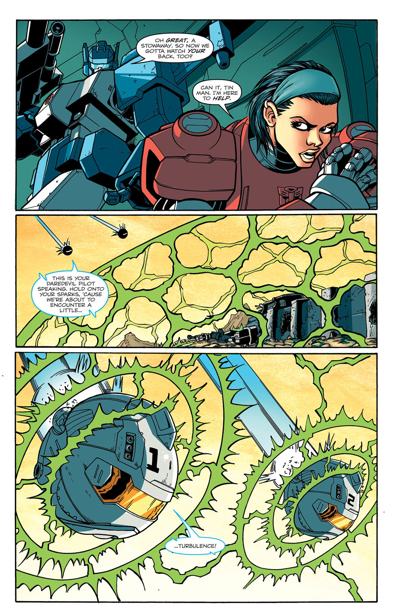 Read online Transformers: Last Stand of The Wreckers comic -  Issue #2 - 21