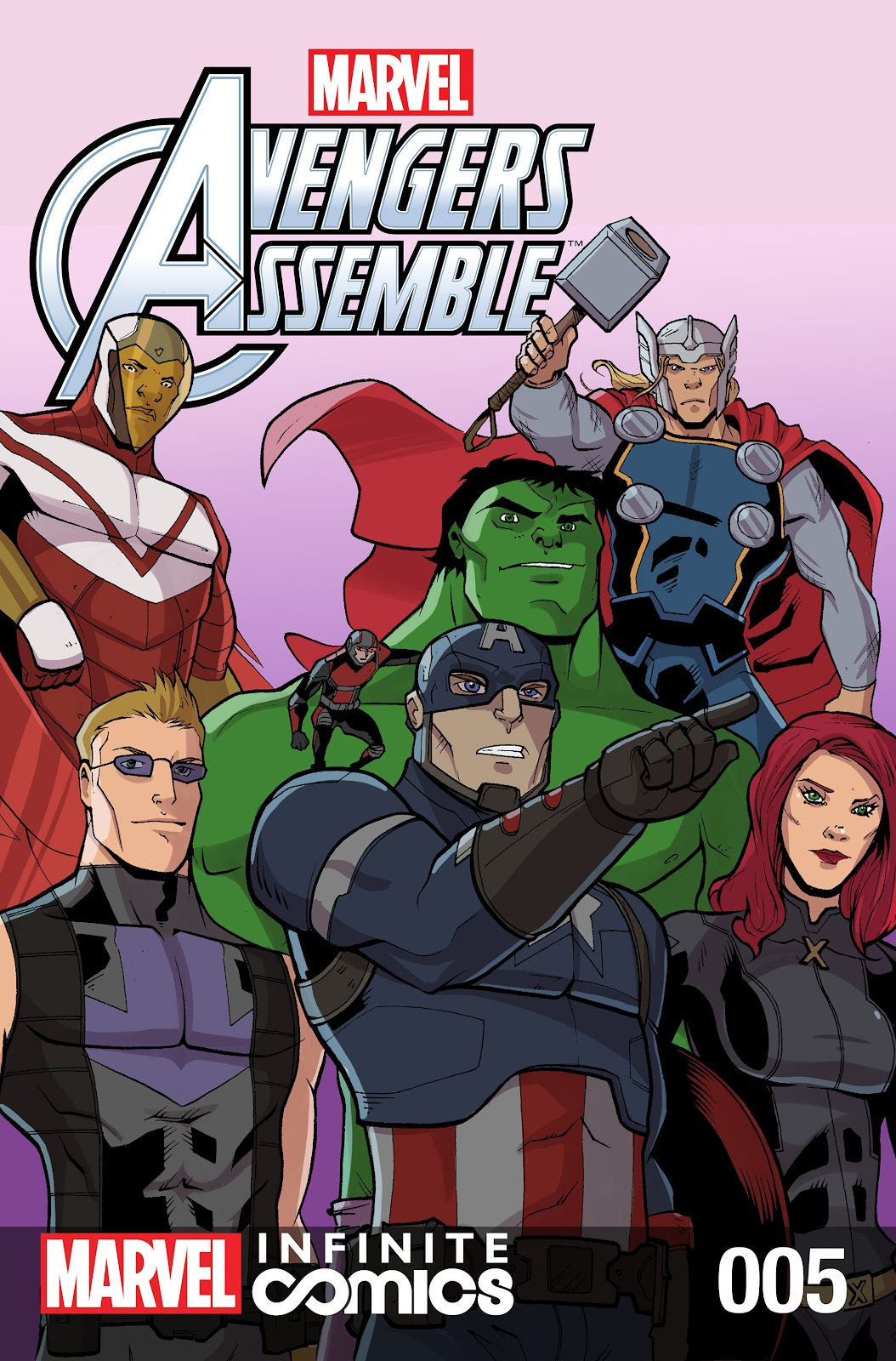 Marvel Universe Avengers Infinite Comic 5 Page 1
