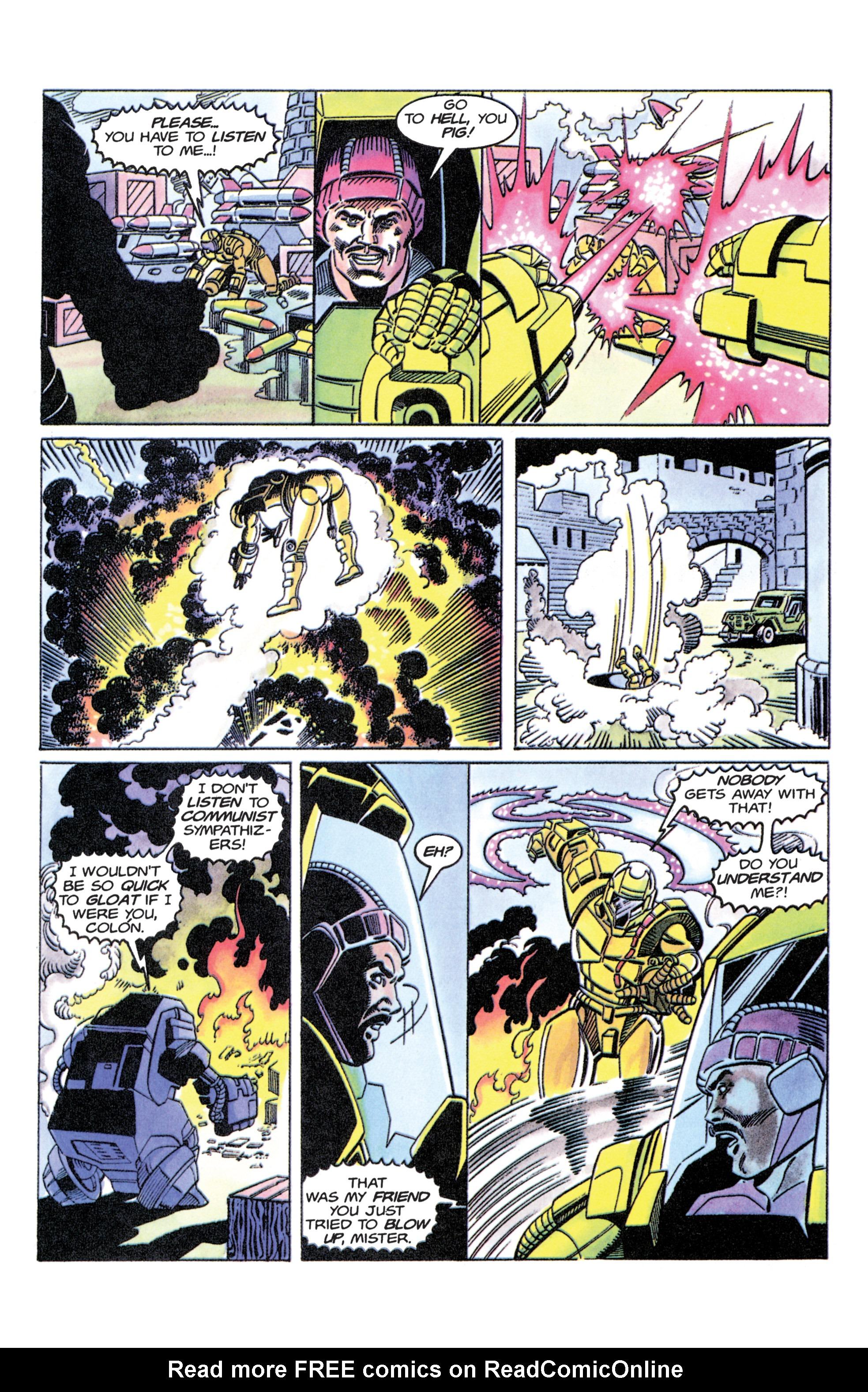 Read online Armorines comic -  Issue #11 - 15