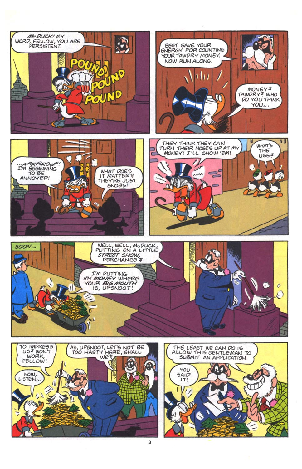 Read online Uncle Scrooge (1953) comic -  Issue #264 - 4