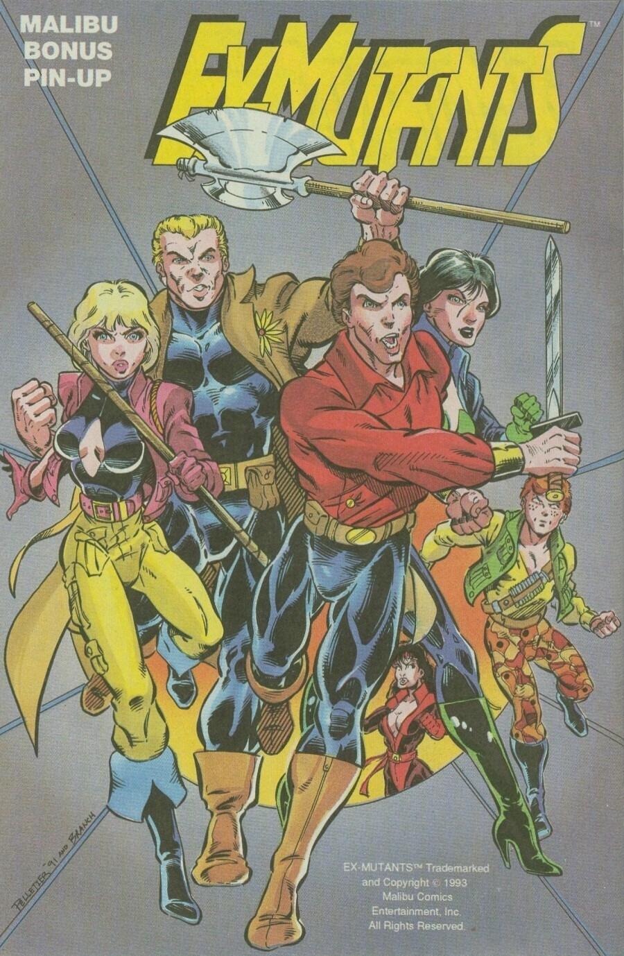 Read online Ex-Mutants comic -  Issue #9 - 32