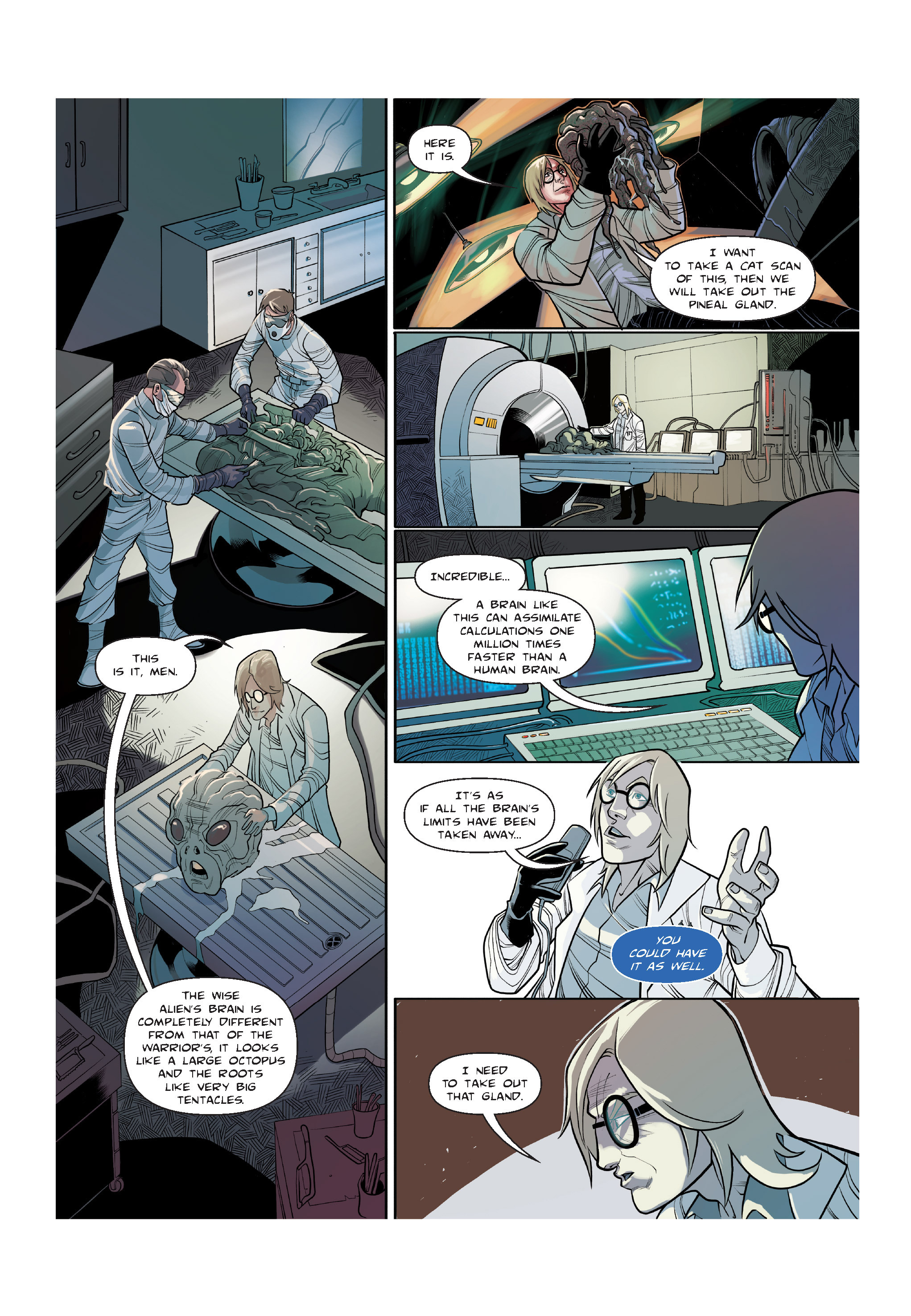 Read online The Shadow of a Terrible Thing comic -  Issue # TPB - 76