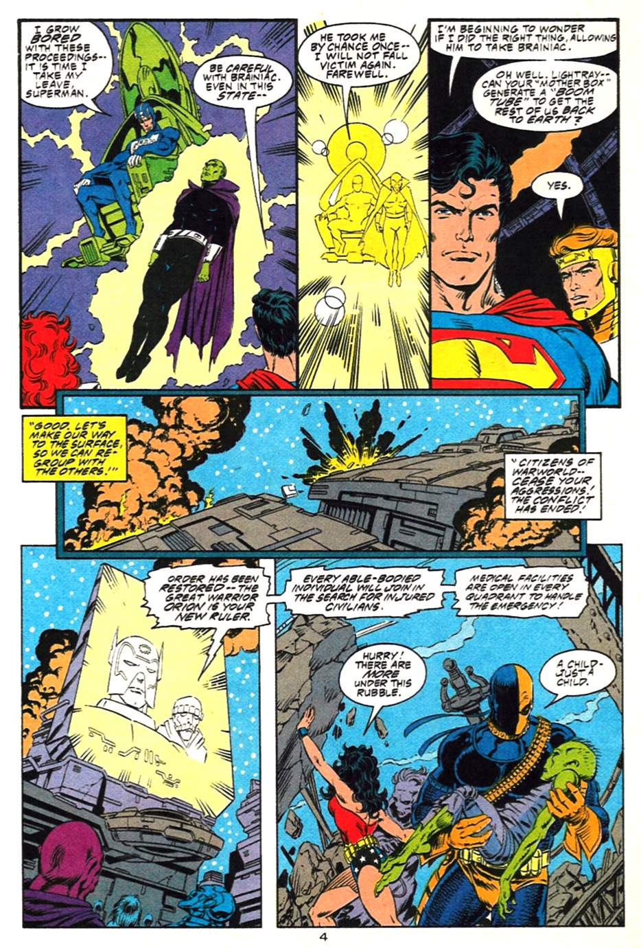 Read online Adventures of Superman (1987) comic -  Issue #489 - 5