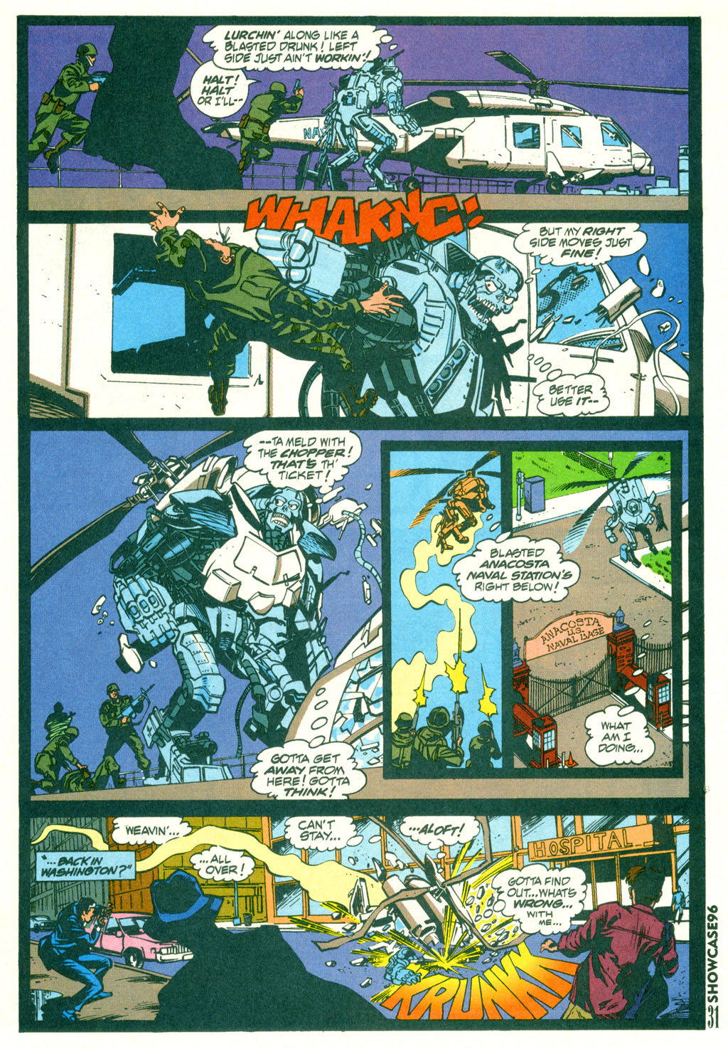 Read online Showcase '96 comic -  Issue #2 - 29