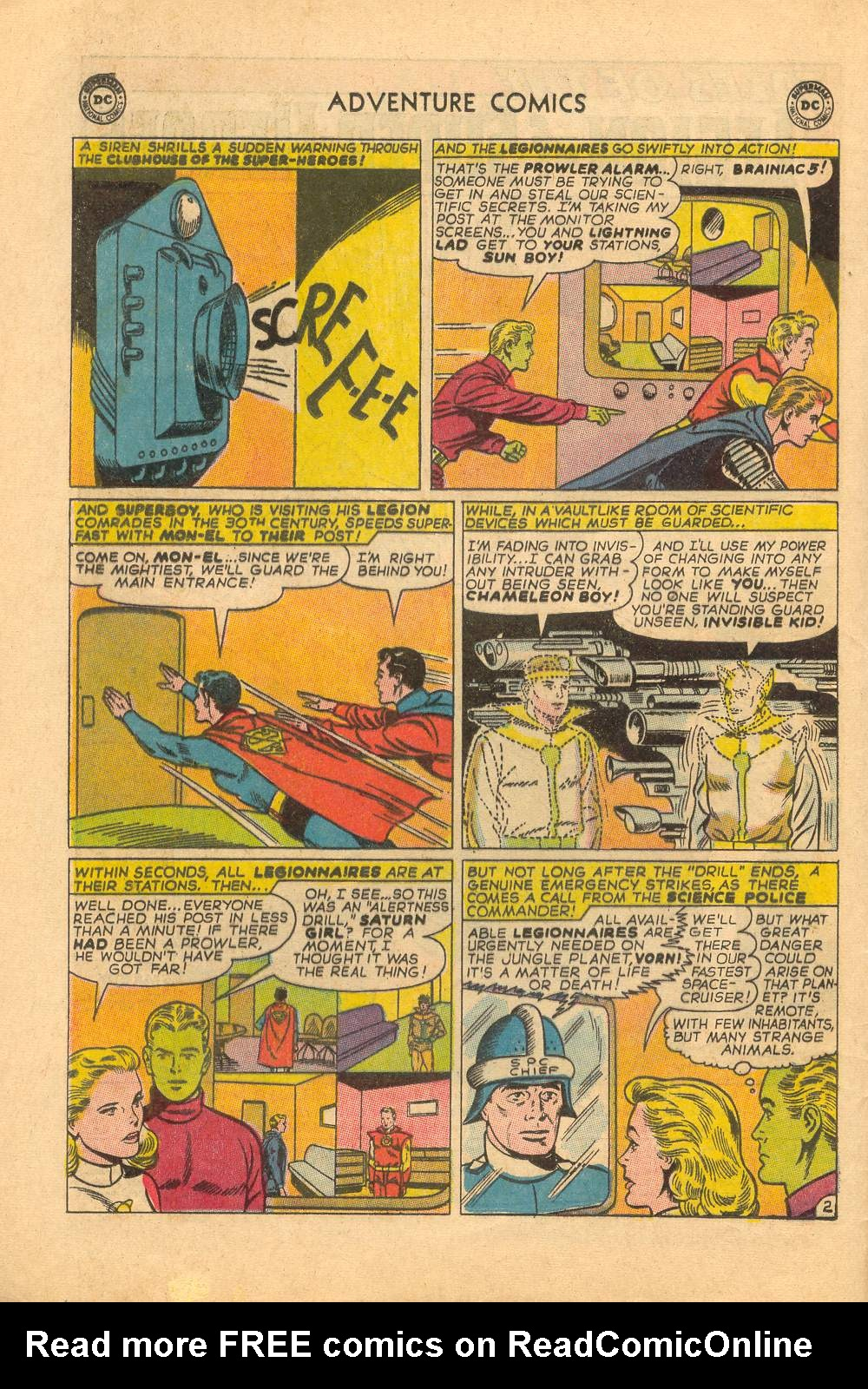 Read online Adventure Comics (1938) comic -  Issue #339 - 4