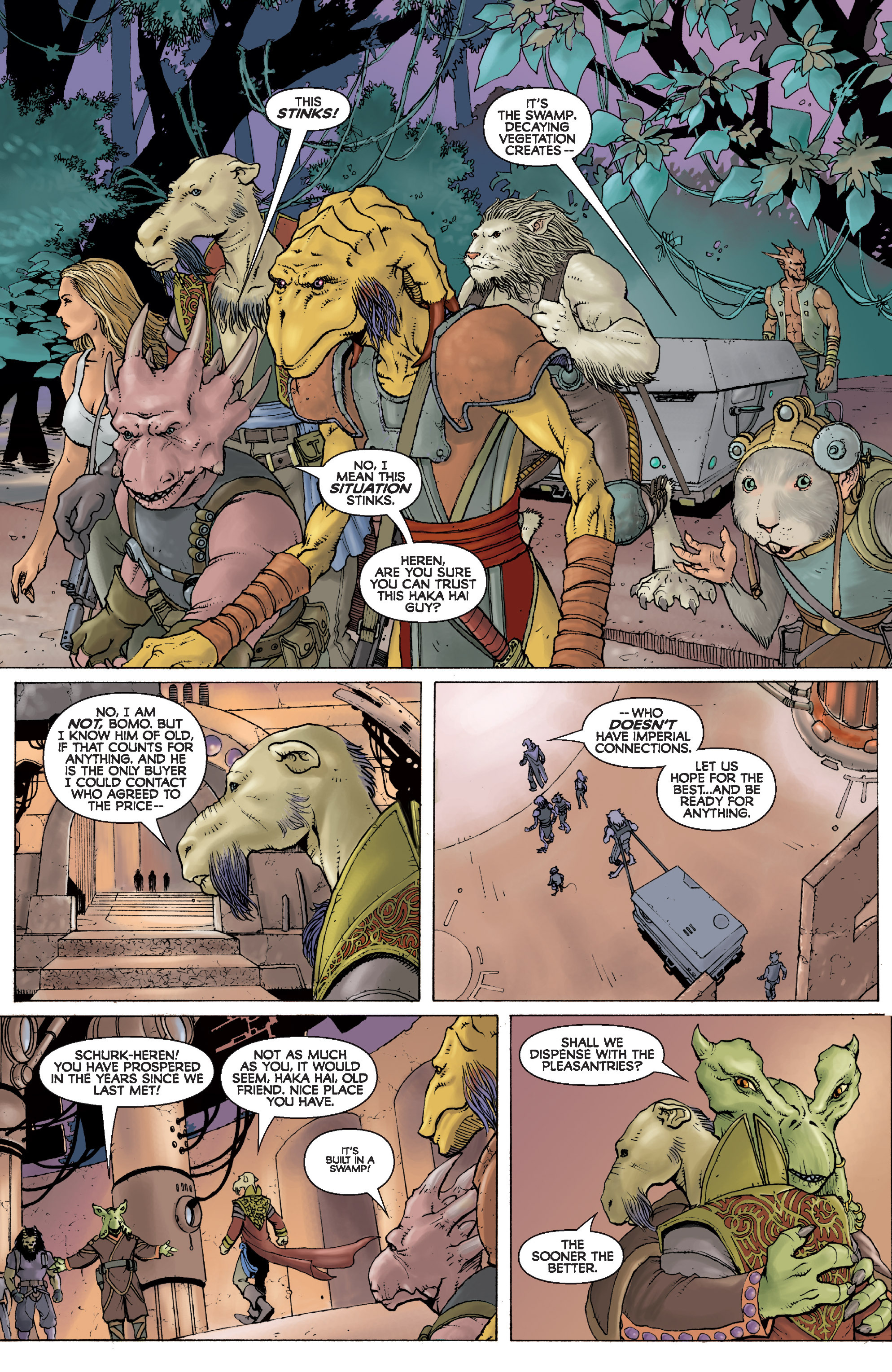 Read online Star Wars Omnibus comic -  Issue # Vol. 31 - 208
