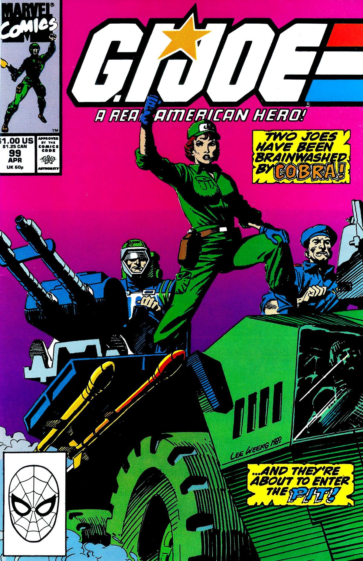 G.I. Joe: A Real American Hero 99 Page 1