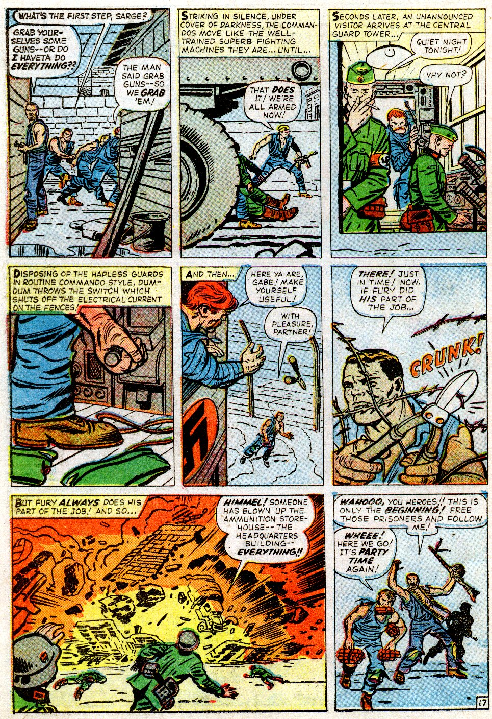 Read online Sgt. Fury comic -  Issue #2 - 22