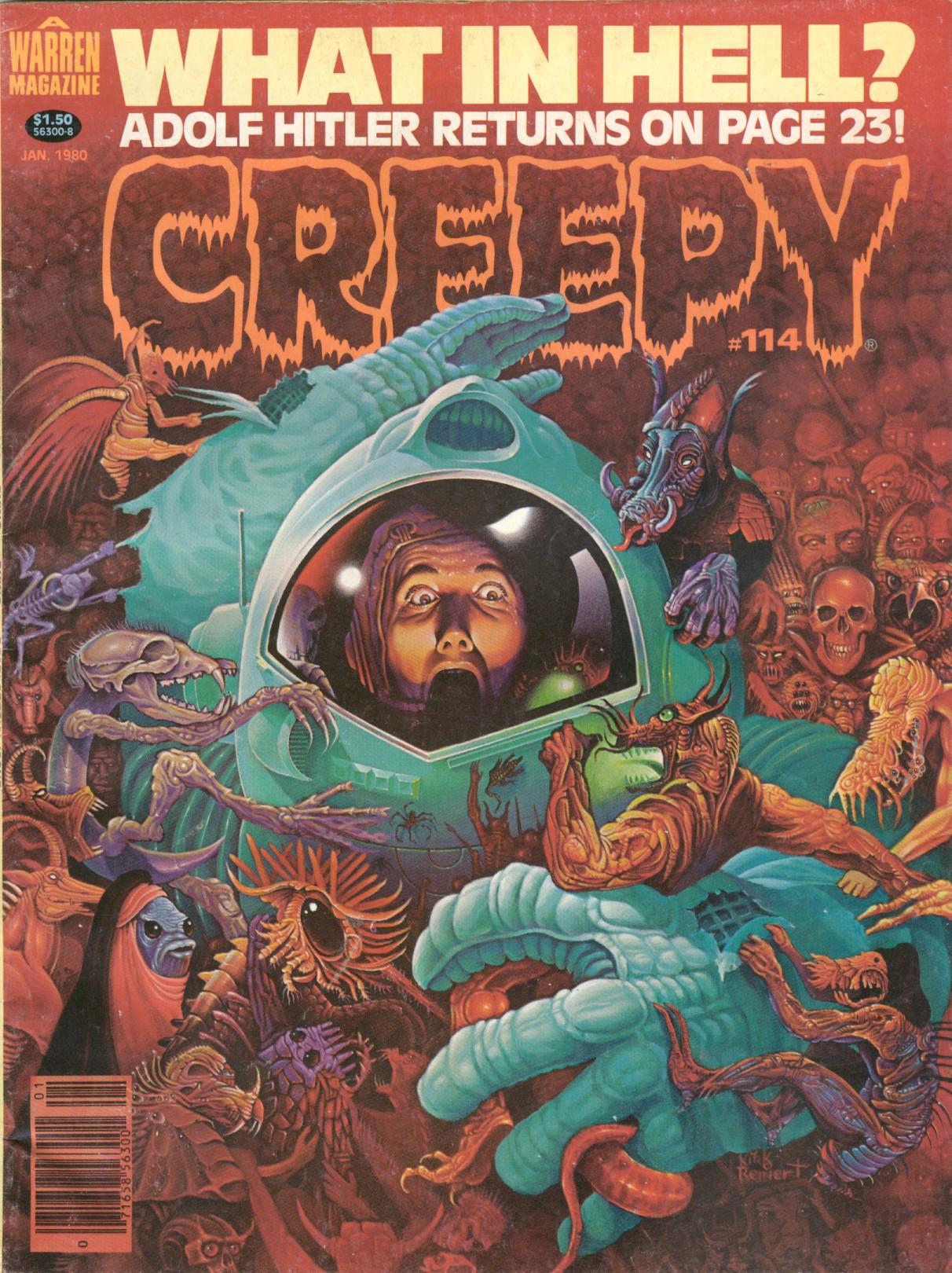 Creepy (1964) 114 Page 1