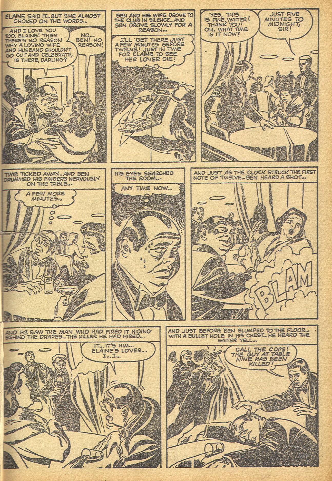 Read online Adventures into Weird Worlds comic -  Issue #8 - 20
