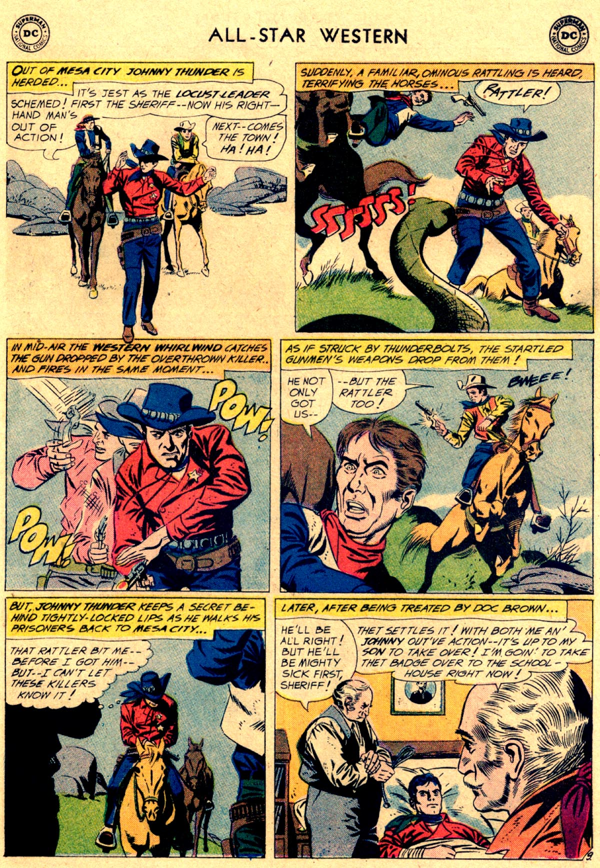Read online All-Star Western (1951) comic -  Issue #112 - 11