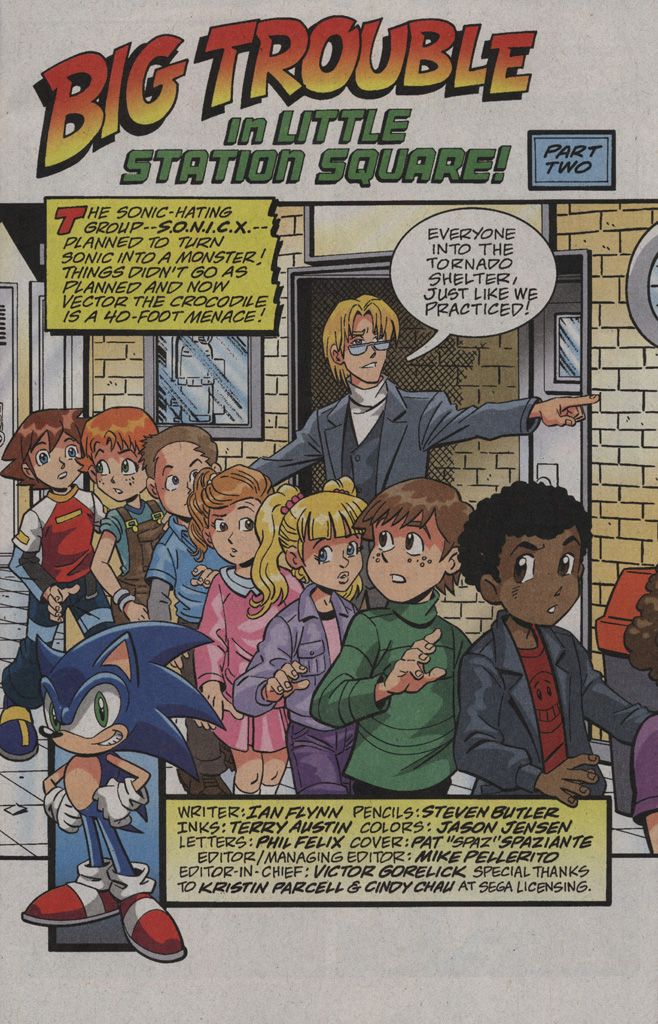 Read online Sonic X comic -  Issue #39 - 3