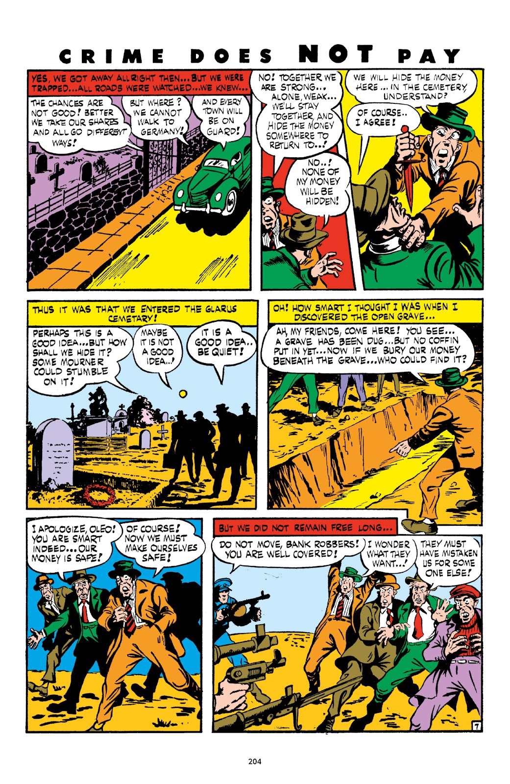 Read online Crime Does Not Pay Archives comic -  Issue # TPB 3 (Part 3) - 4