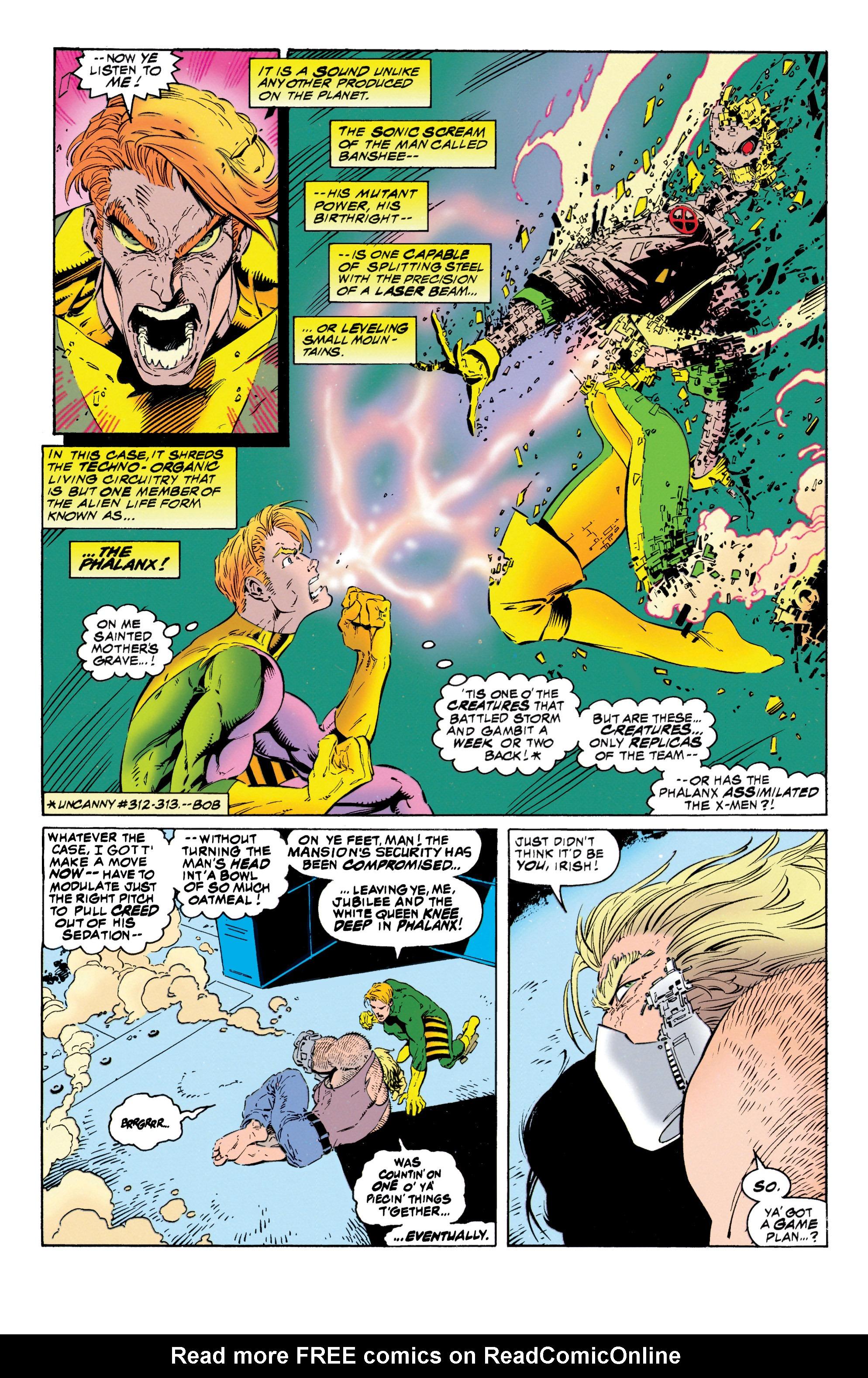 Read online Uncanny X-Men (1963) comic -  Issue #316 - 19