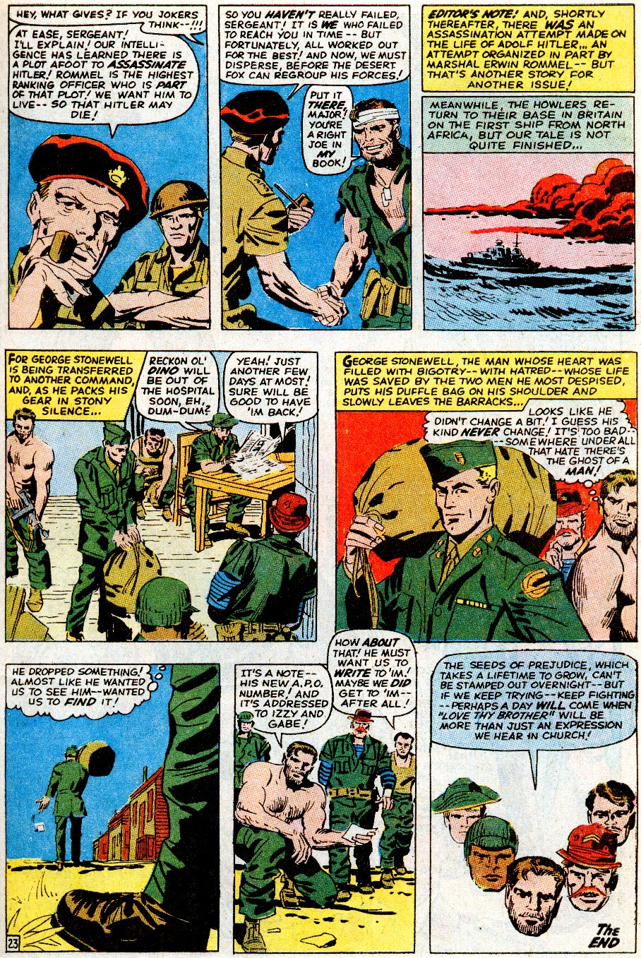 Read online Sgt. Fury comic -  Issue # _Special 5 - 29