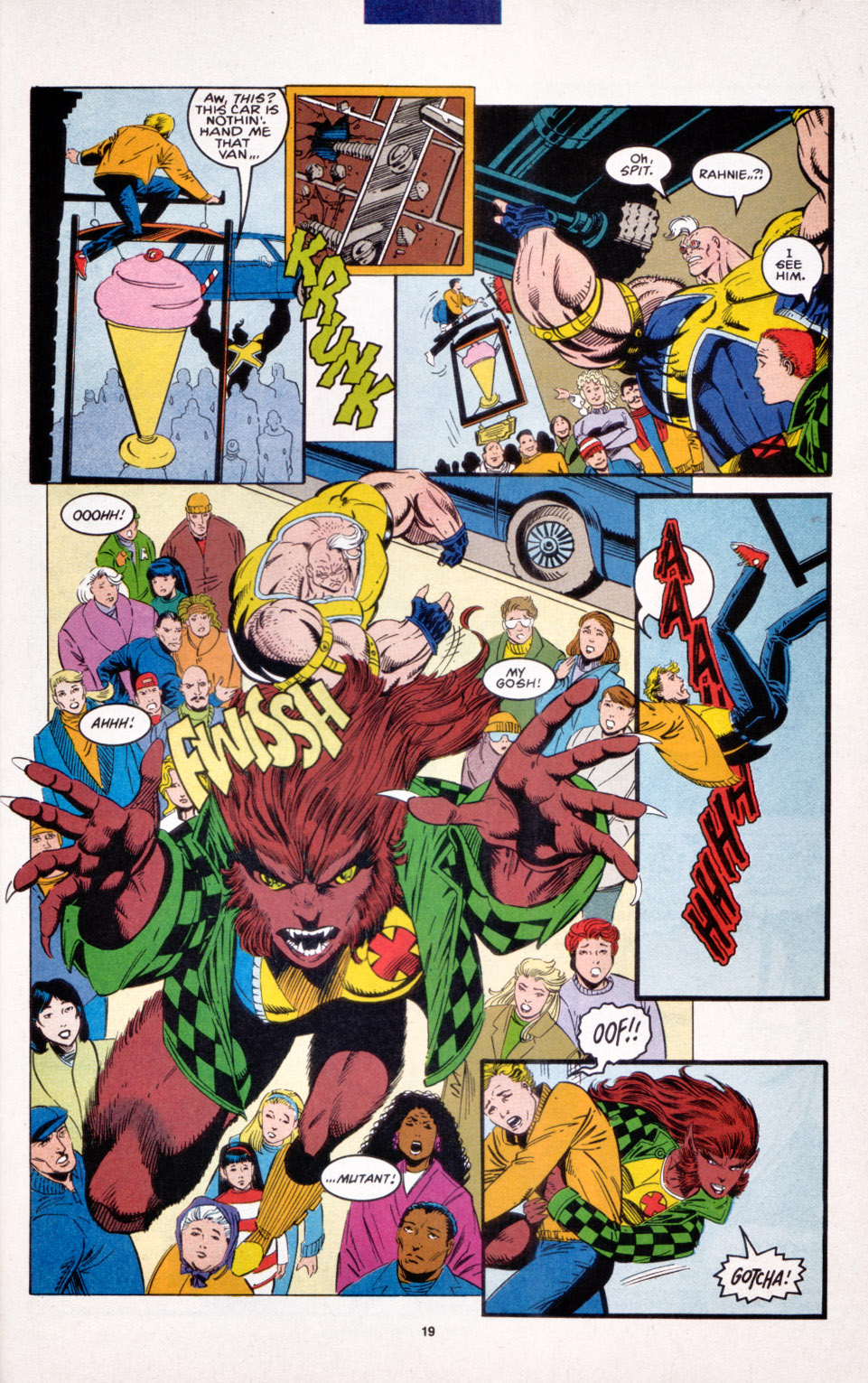 Read online X-Factor (1986) comic -  Issue #103 - 14