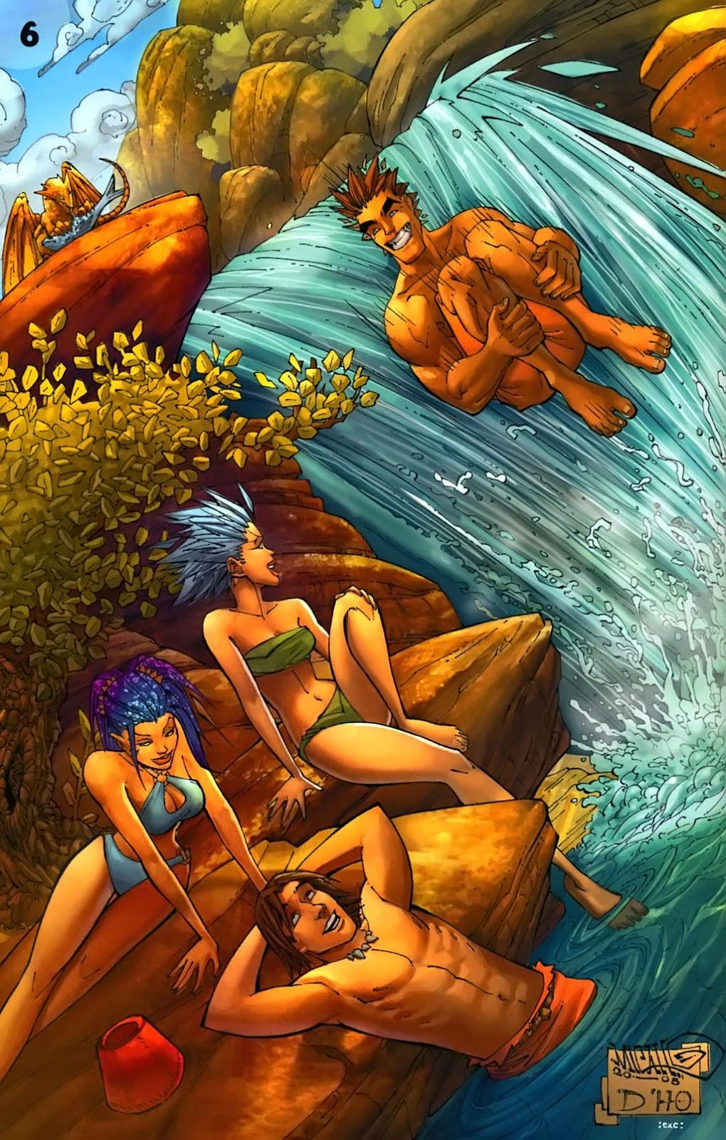 Read online Aspen Splash: Swimsuit Spectacular comic -  Issue # Issue 2006 - 8