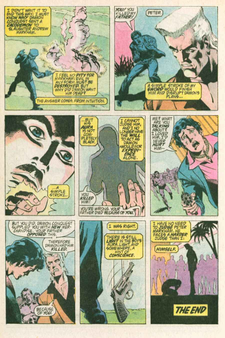 Read online Justice (1986) comic -  Issue #13 - 23