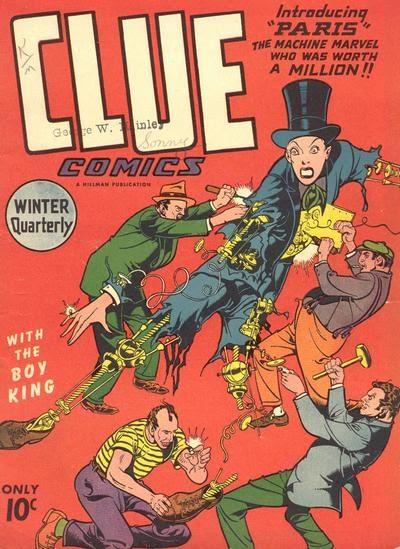 Clue Comics 9 Page 1