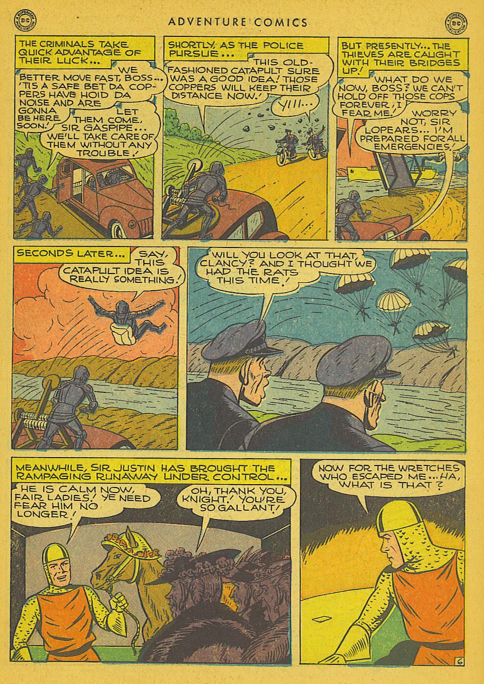 Read online Adventure Comics (1938) comic -  Issue #102 - 24
