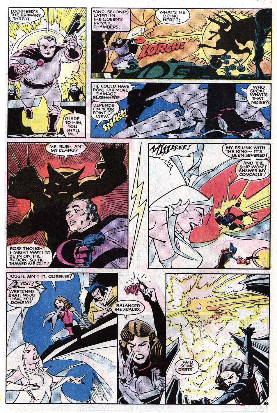 Read online Uncanny X-Men (1963) comic -  Issue # _Annual 8 - 41
