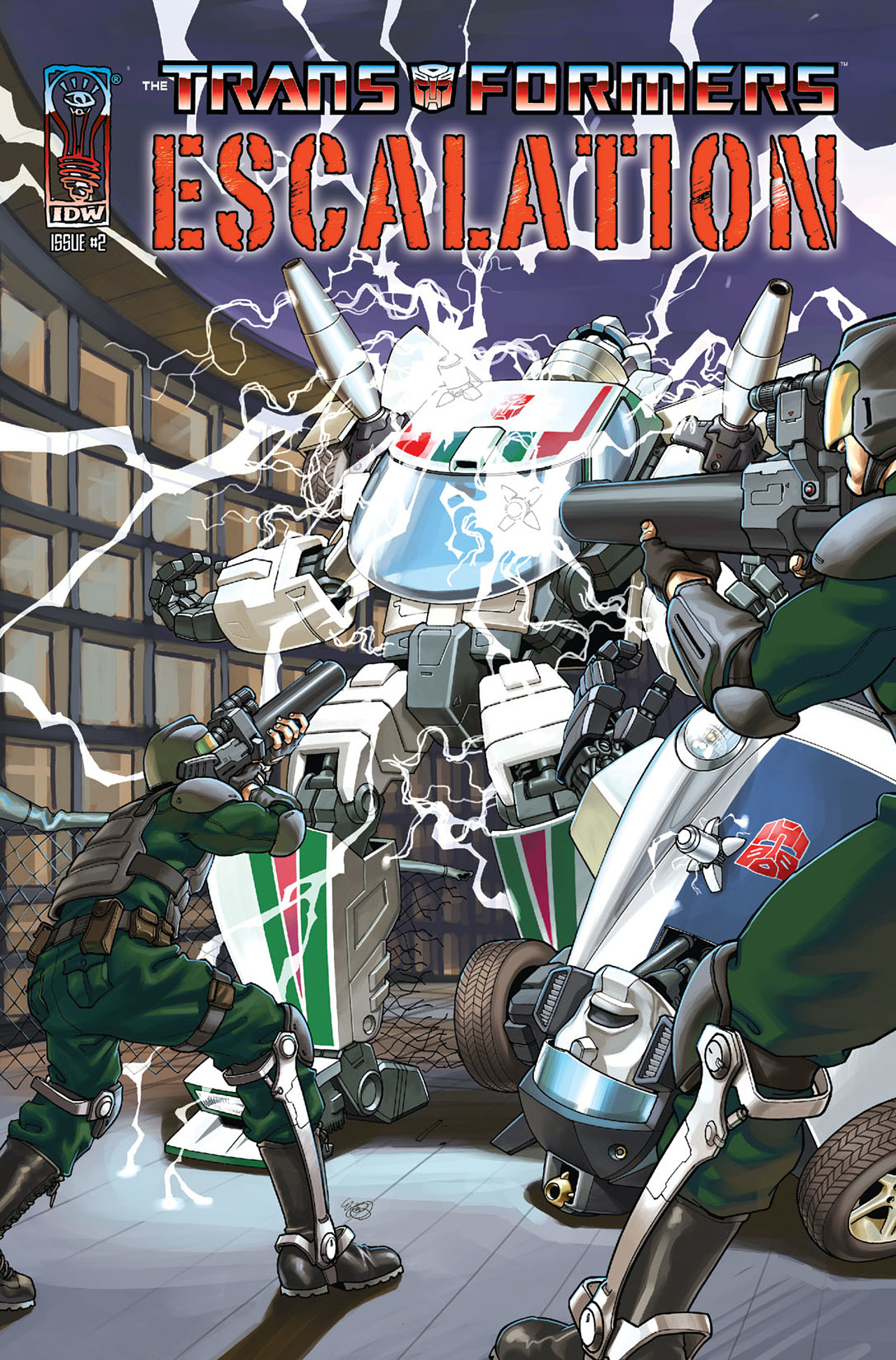The Transformers: Escalation 2 Page 1