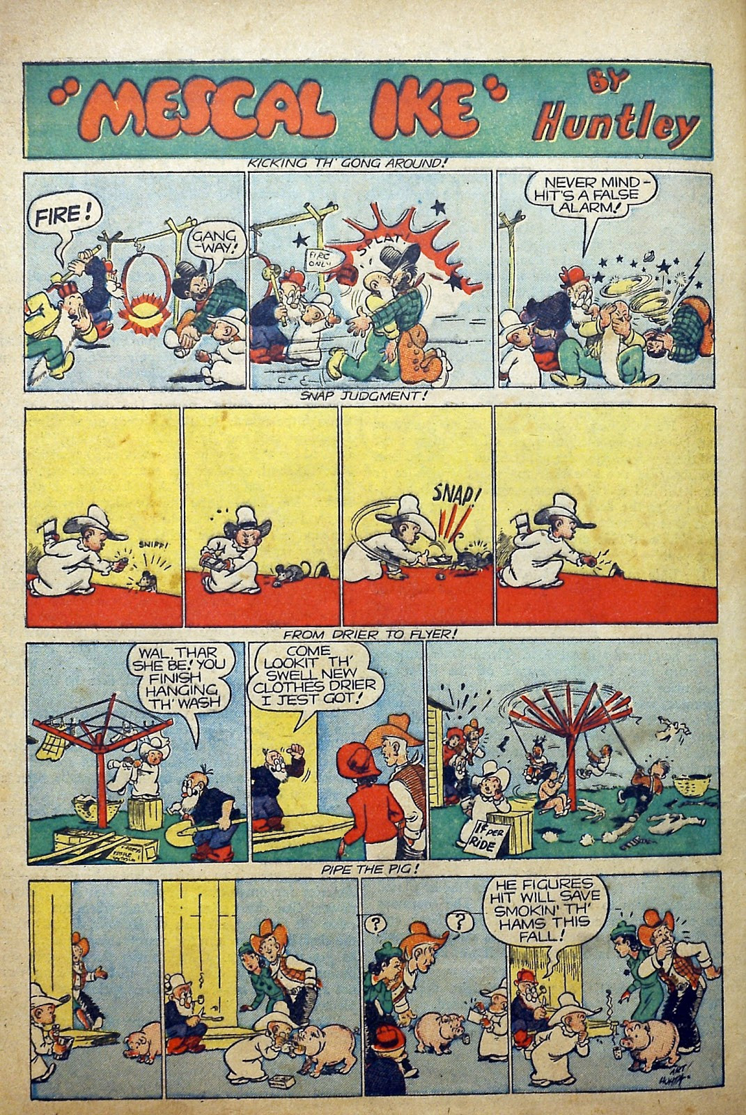 Read online Famous Funnies comic -  Issue #97 - 61