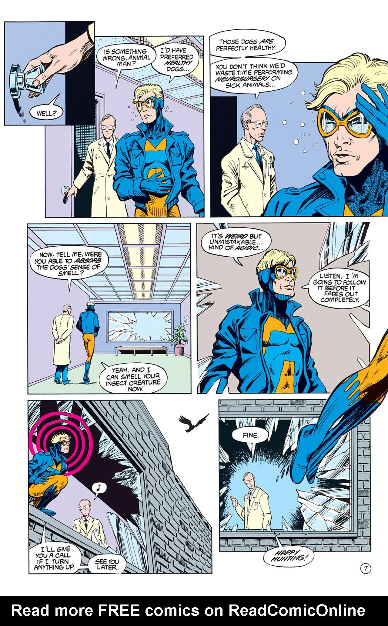 Read online Animal Man (1988) comic -  Issue #2 - 9