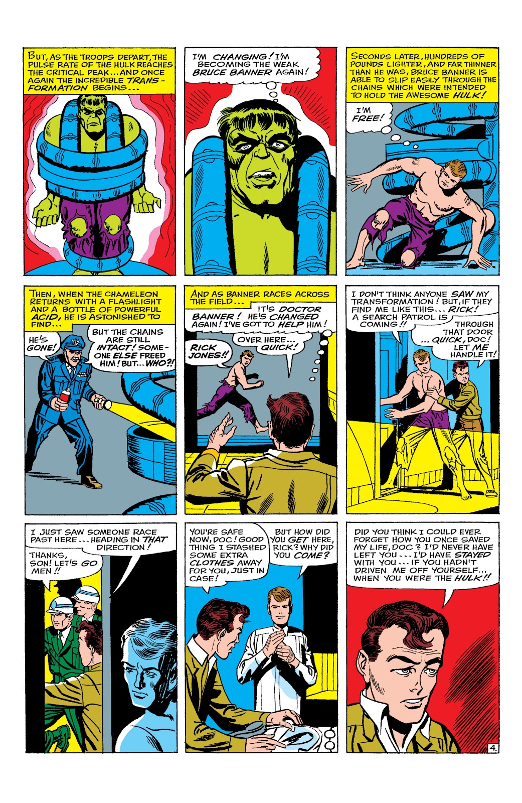 Read online Marvel Masterworks: The Incredible Hulk comic -  Issue # TPB 2 (Part 1) - 49