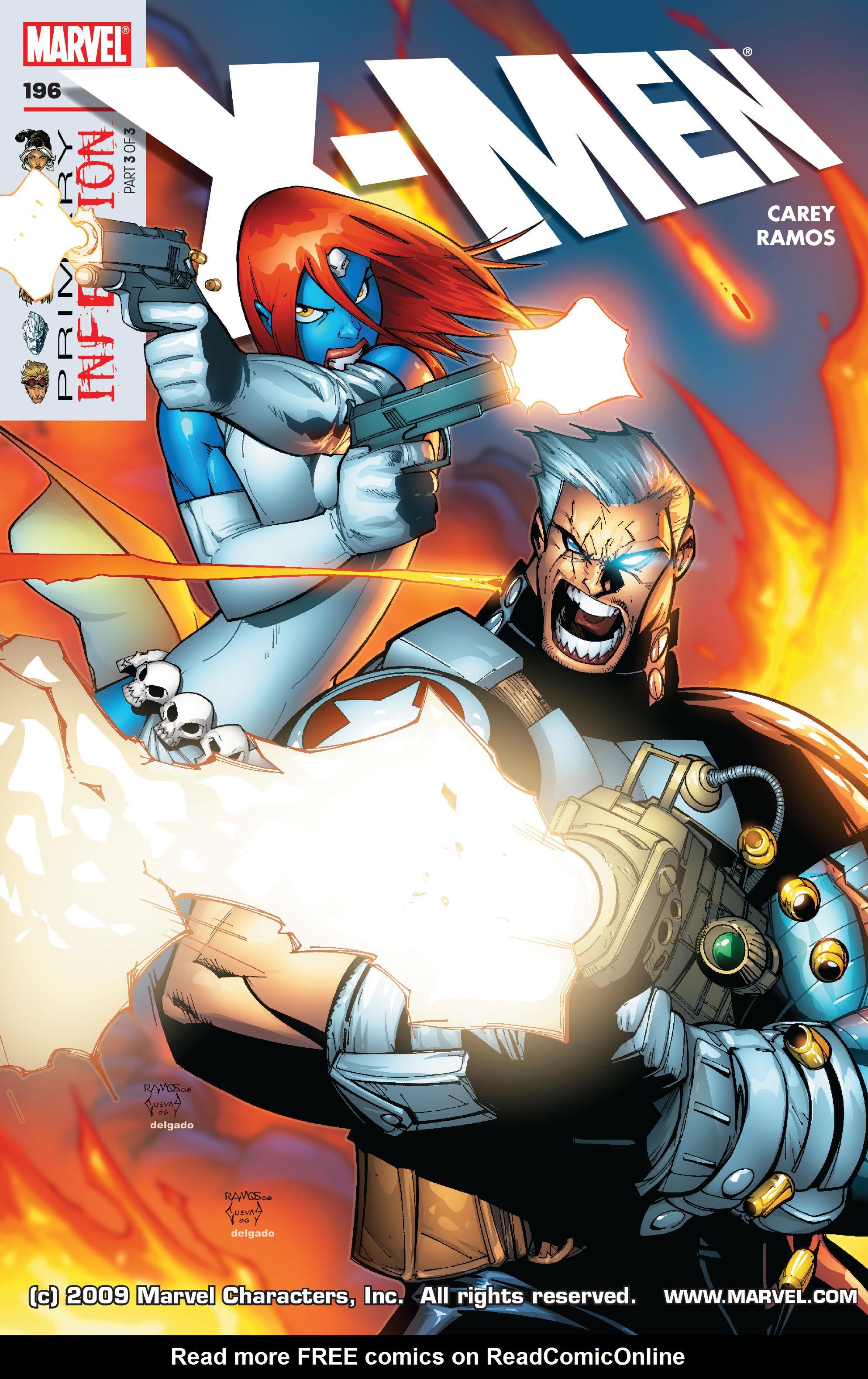 X-Men (1991) 196 Page 0