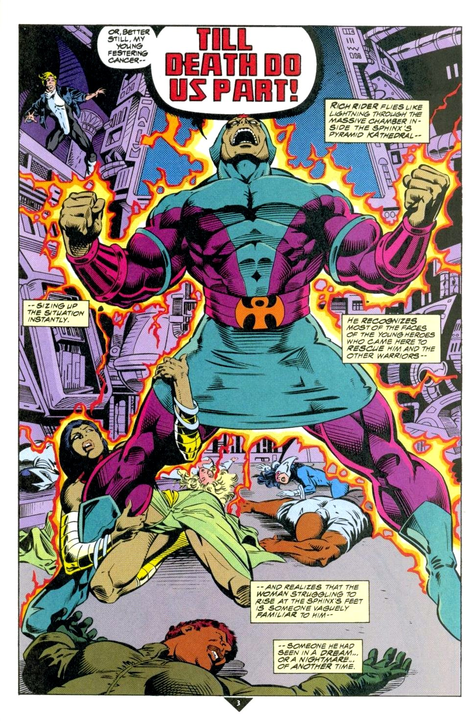 The New Warriors Issue #50 #54 - English 4