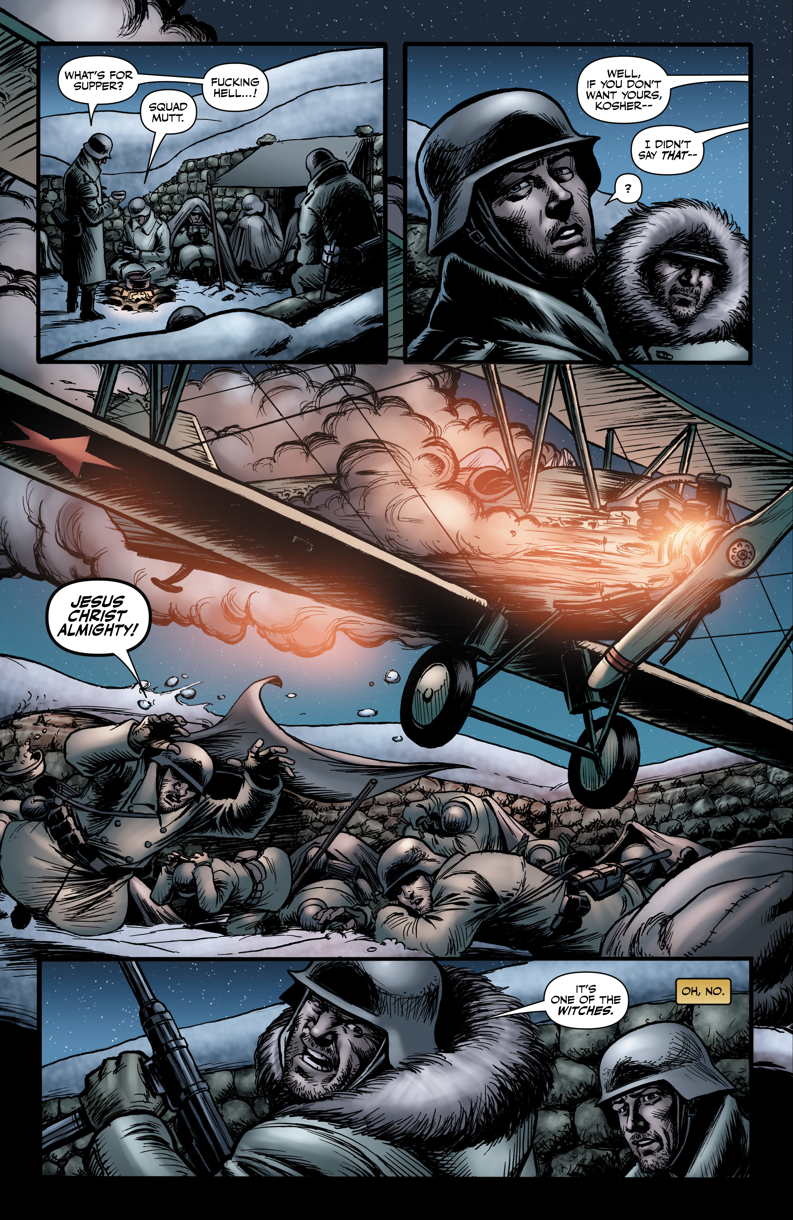 Read online Battlefields: Night Witches comic -  Issue # TPB - 64