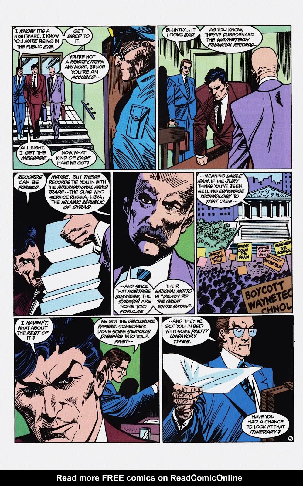 Read online Detective Comics (1937) comic -  Issue # _TPB Batman - Blind Justice (Part 1) - 70